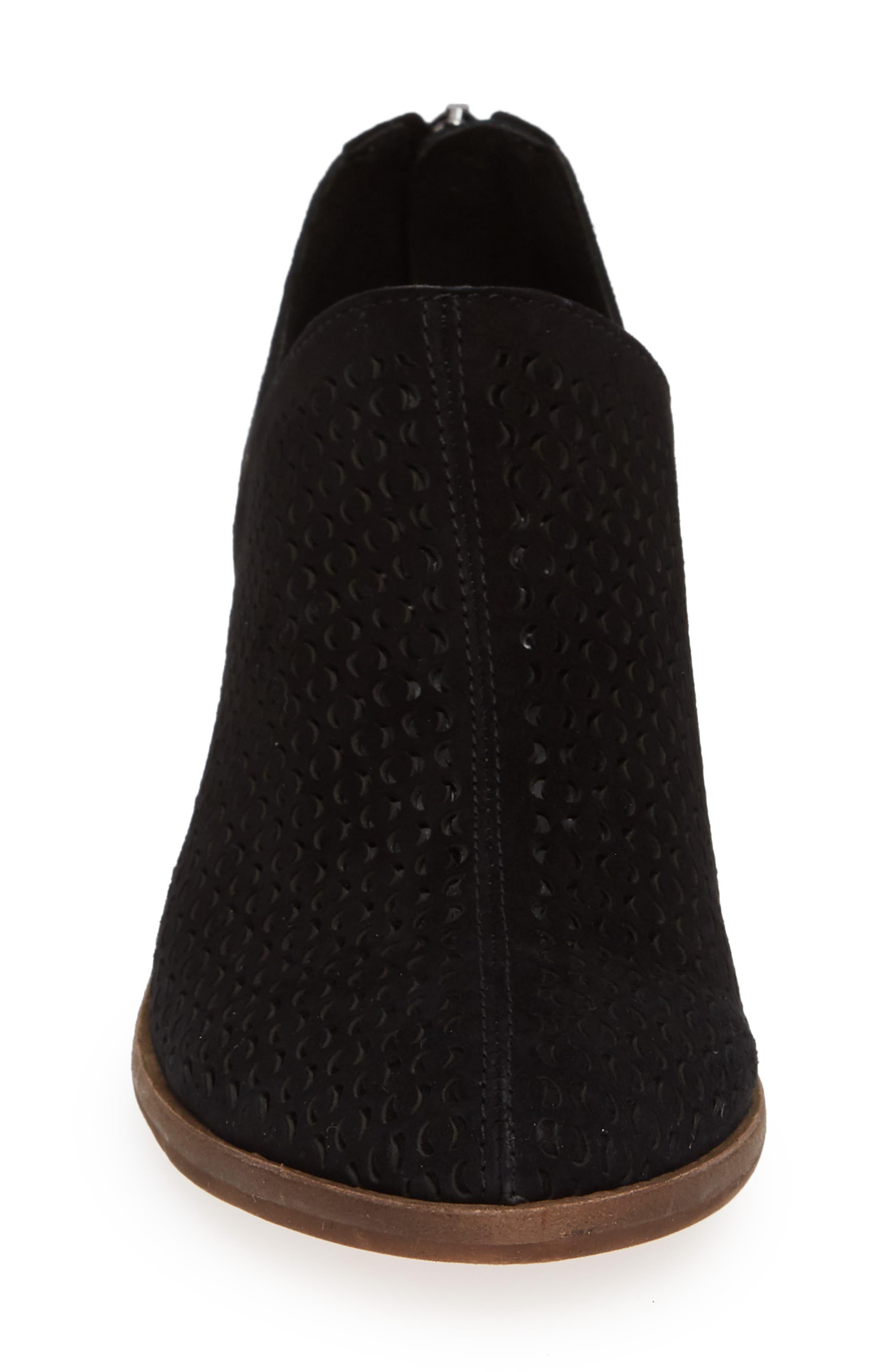 VINCE CAMUTO, Paleta Boot, Alternate thumbnail 4, color, BLACK SUEDE