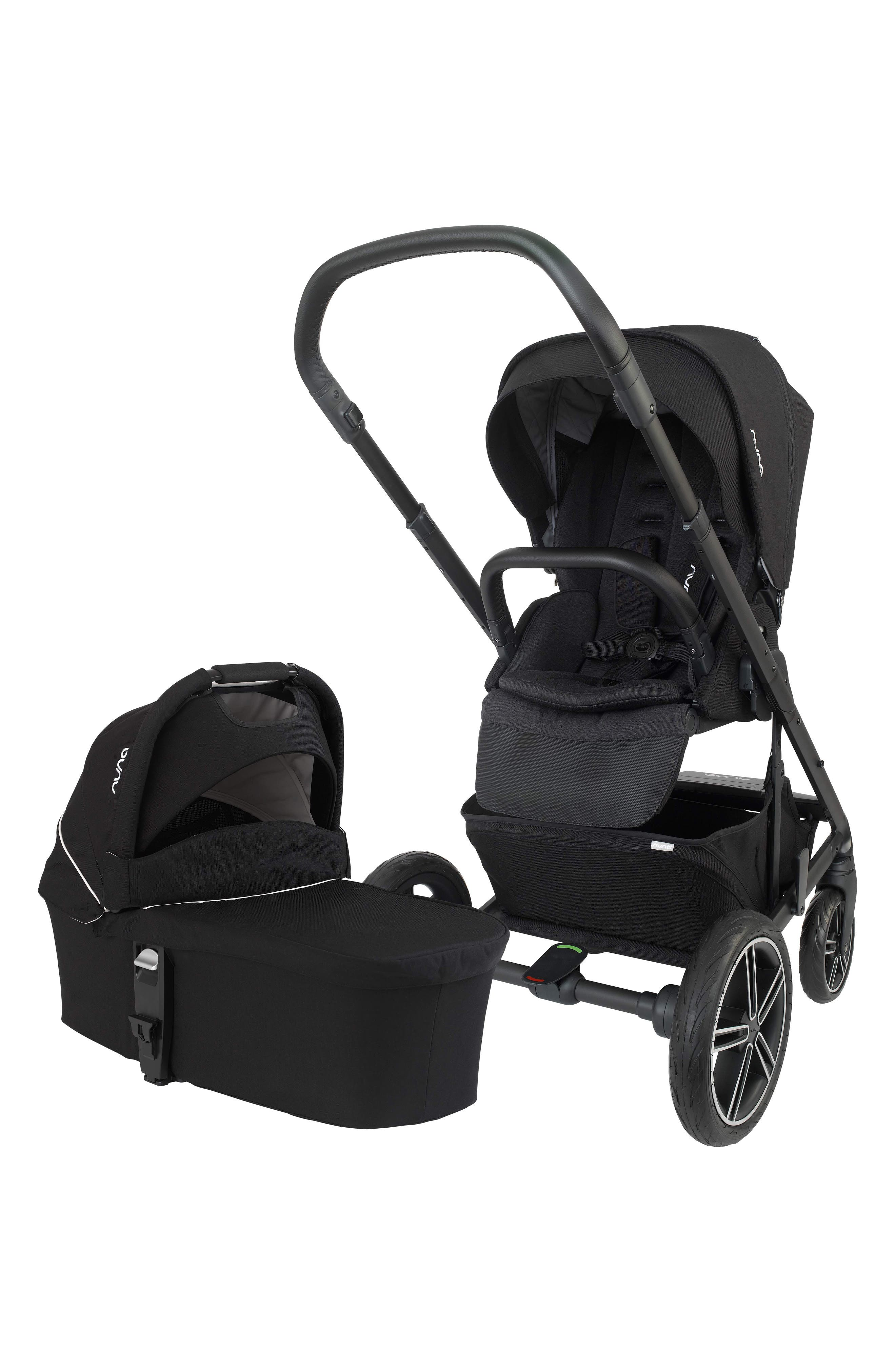 NUNA, MIXX 2 Stroller & Bassinet Set, Main thumbnail 1, color, CAVIAR