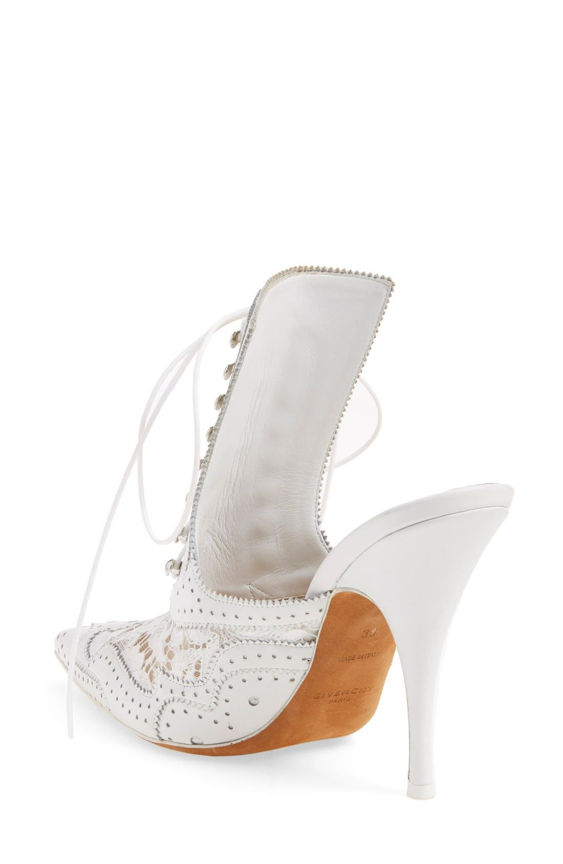 GIVENCHY, 'Rooja' Pointy Toe Mule, Alternate thumbnail 3, color, 101
