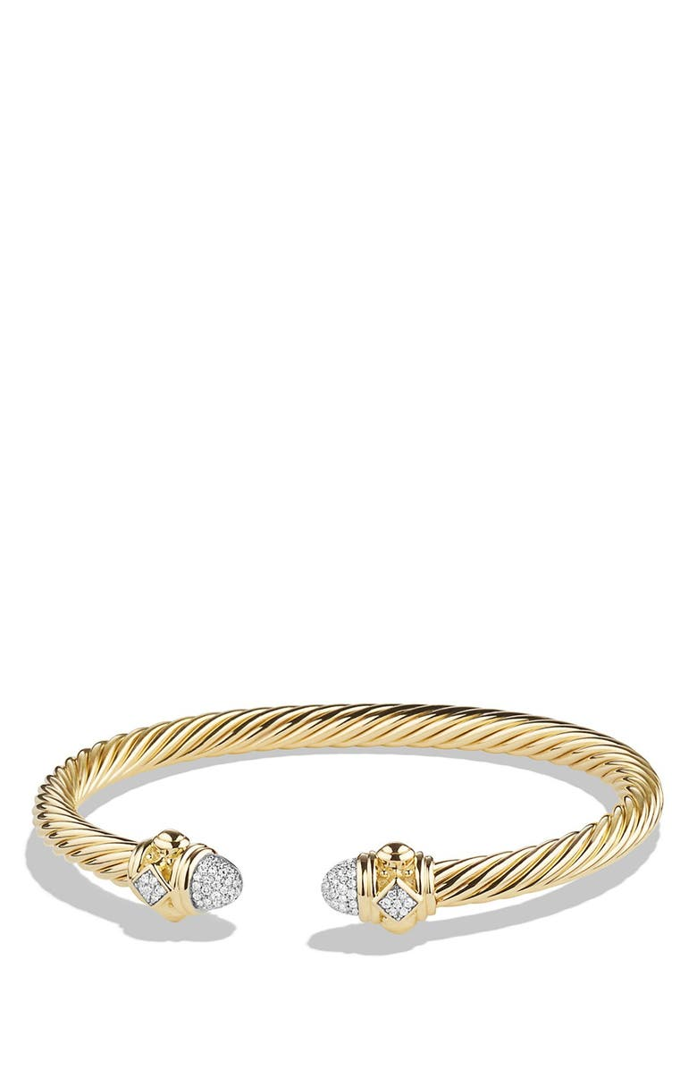 5fc6a0510 DAVID YURMAN 'Renaissance' Bracelet with Diamonds in Gold, Main, color,  YELLOW