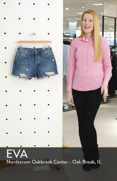 Sofia Cutoff Denim Shorts, sales video thumbnail