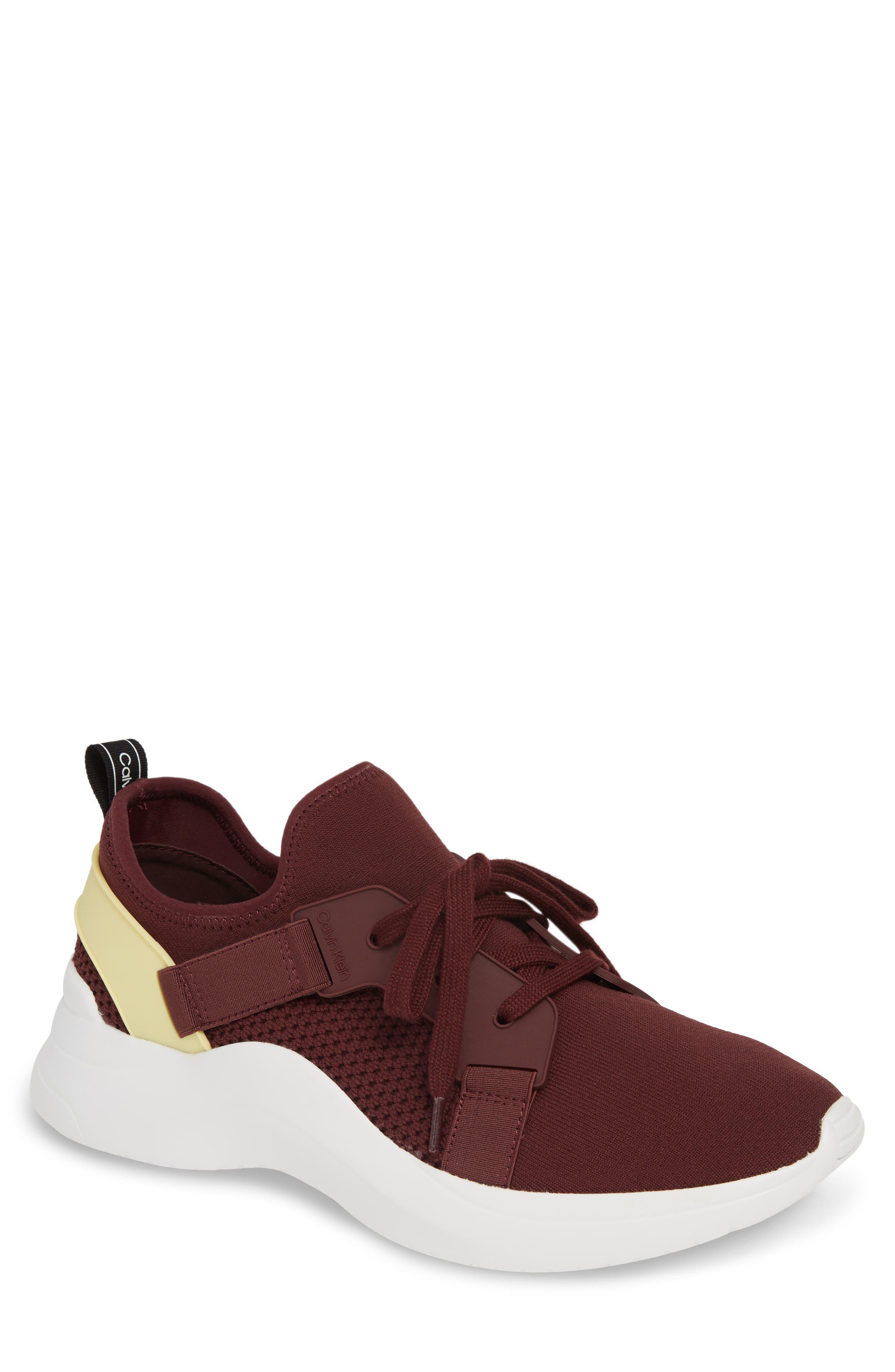 Calvin Klein Unni Sneaker, Burgundy