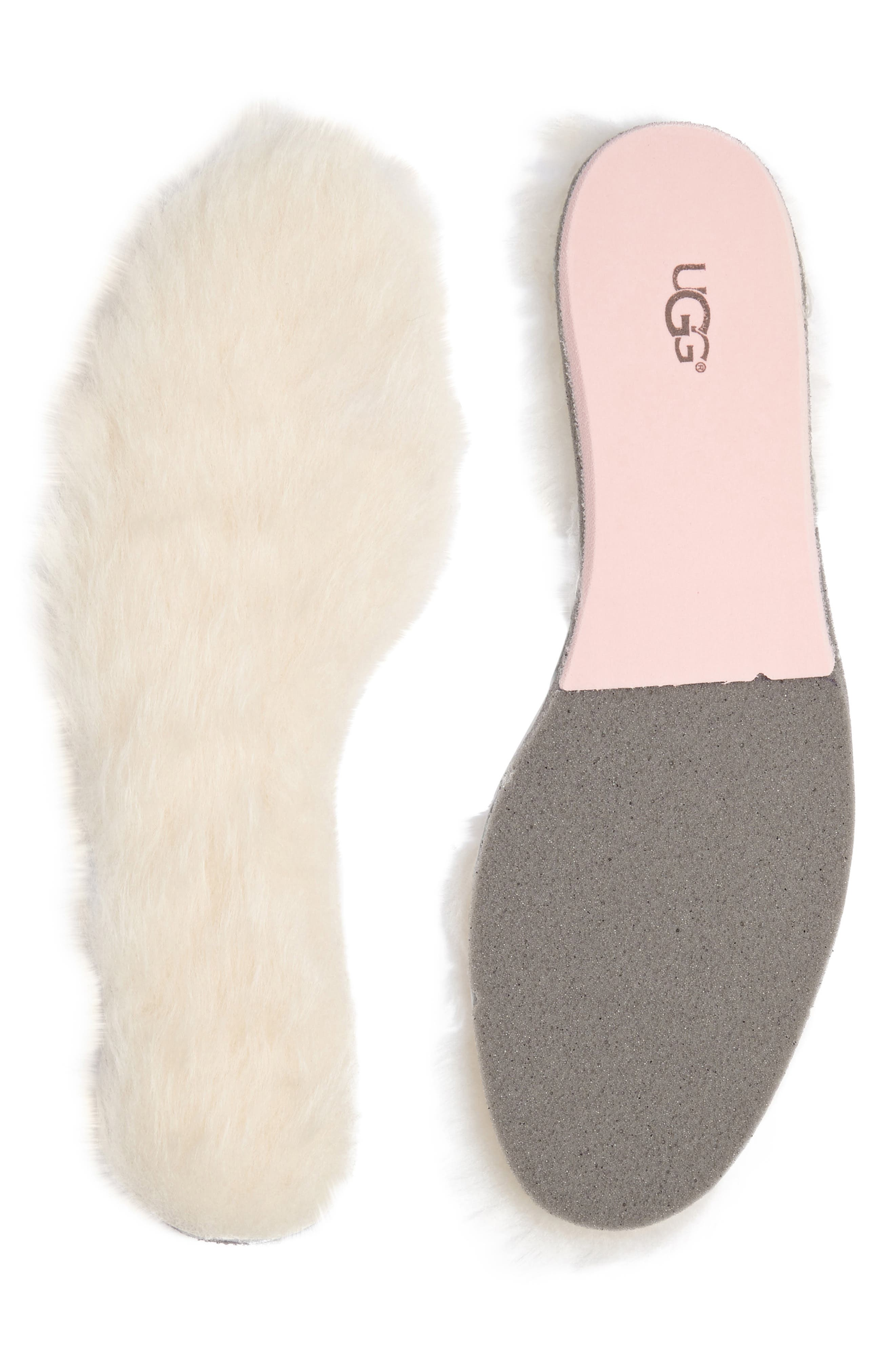 UGG<SUP>®</SUP> Genuine Sheepskin Insoles, Main, color, NATURAL
