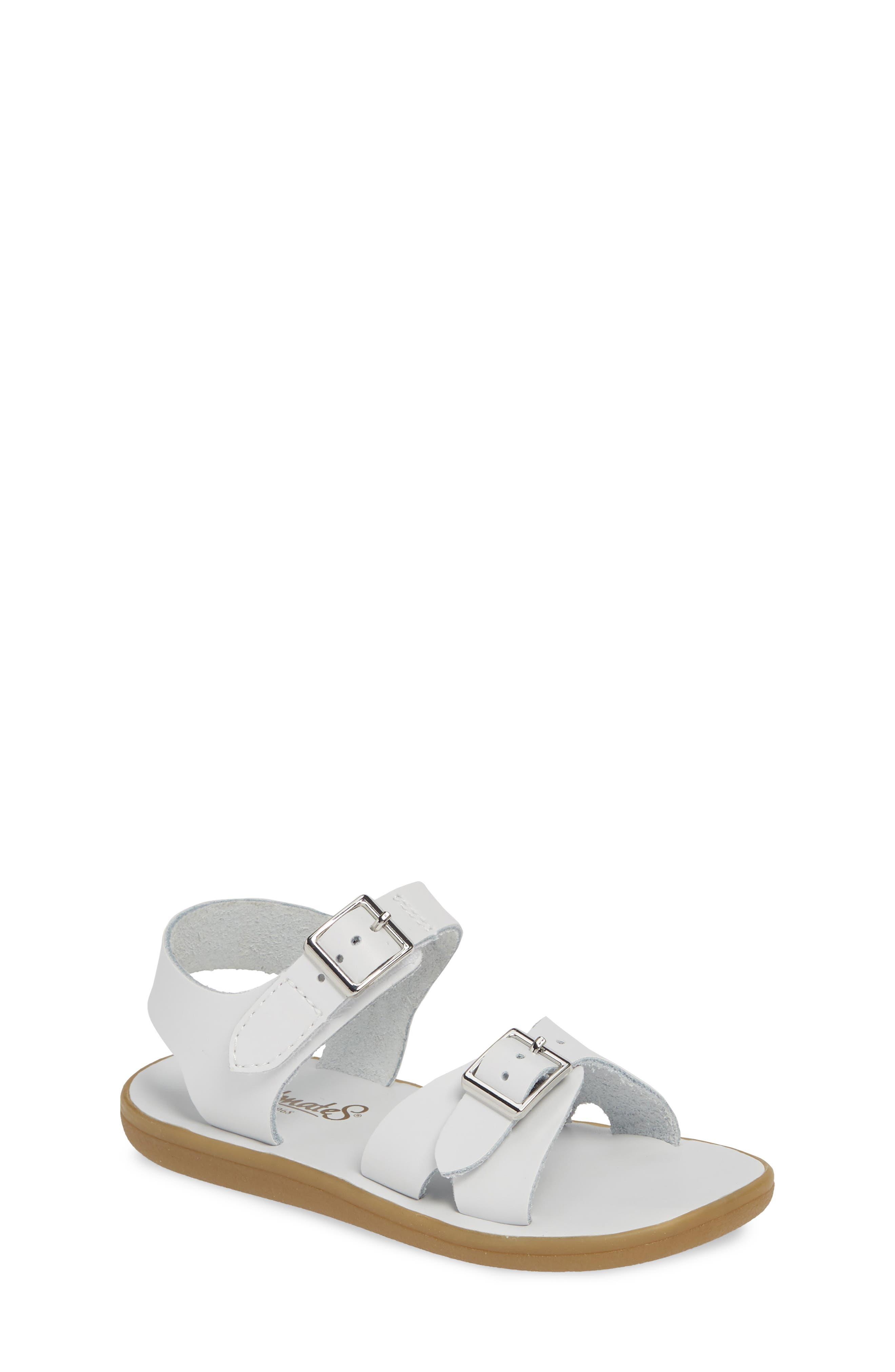 FOOTMATES Tide Waterproof Sandal, Main, color, WHITE