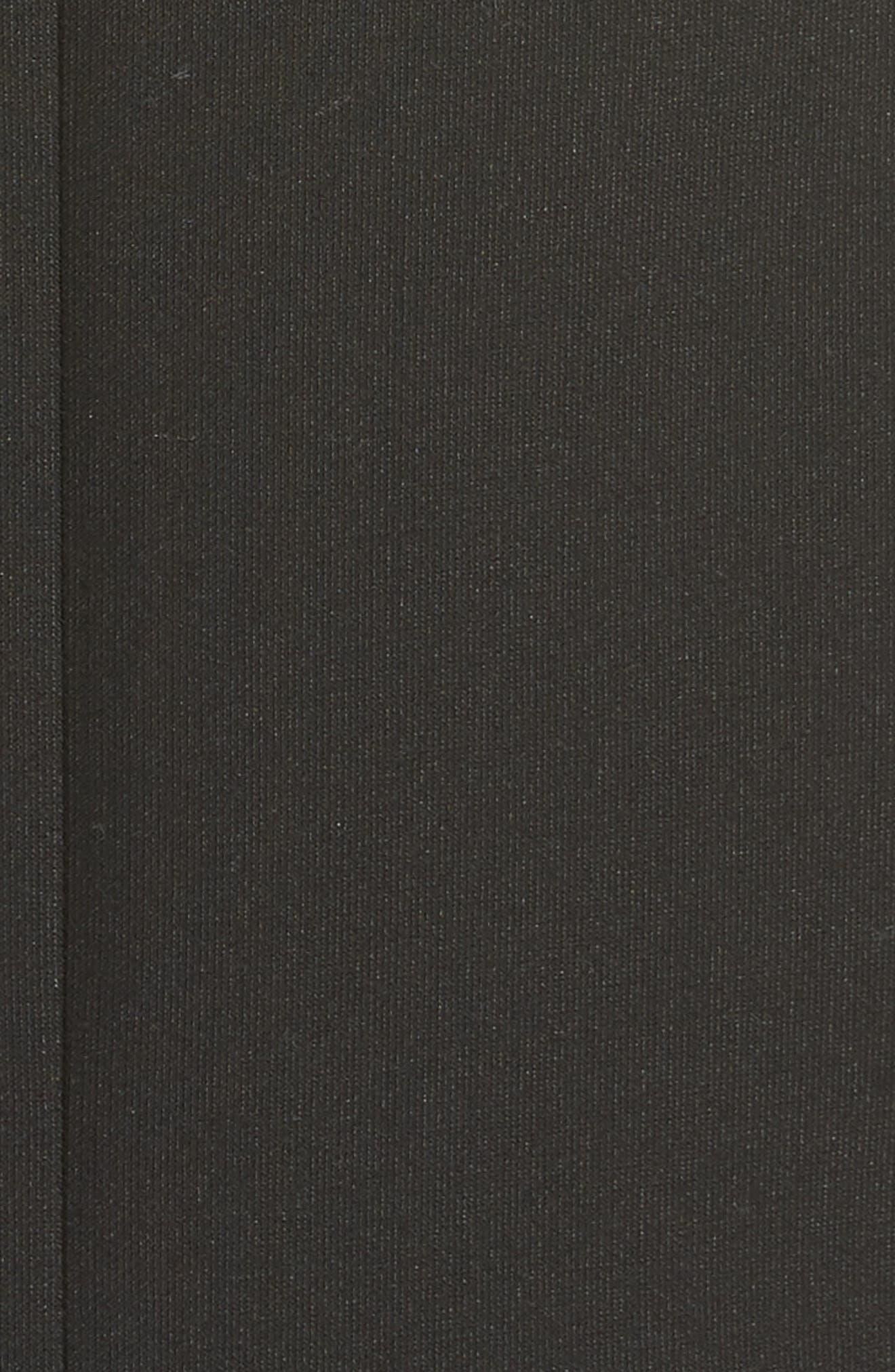 CINQ À SEPT, Ellette Sheath Dress, Alternate thumbnail 5, color, 001
