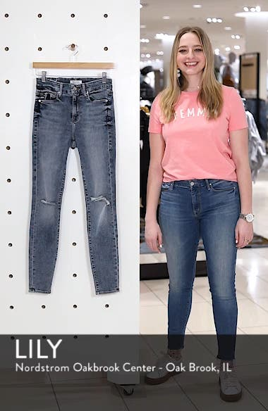 Good Legs Ripped High Waist Skinny Jeans, sales video thumbnail