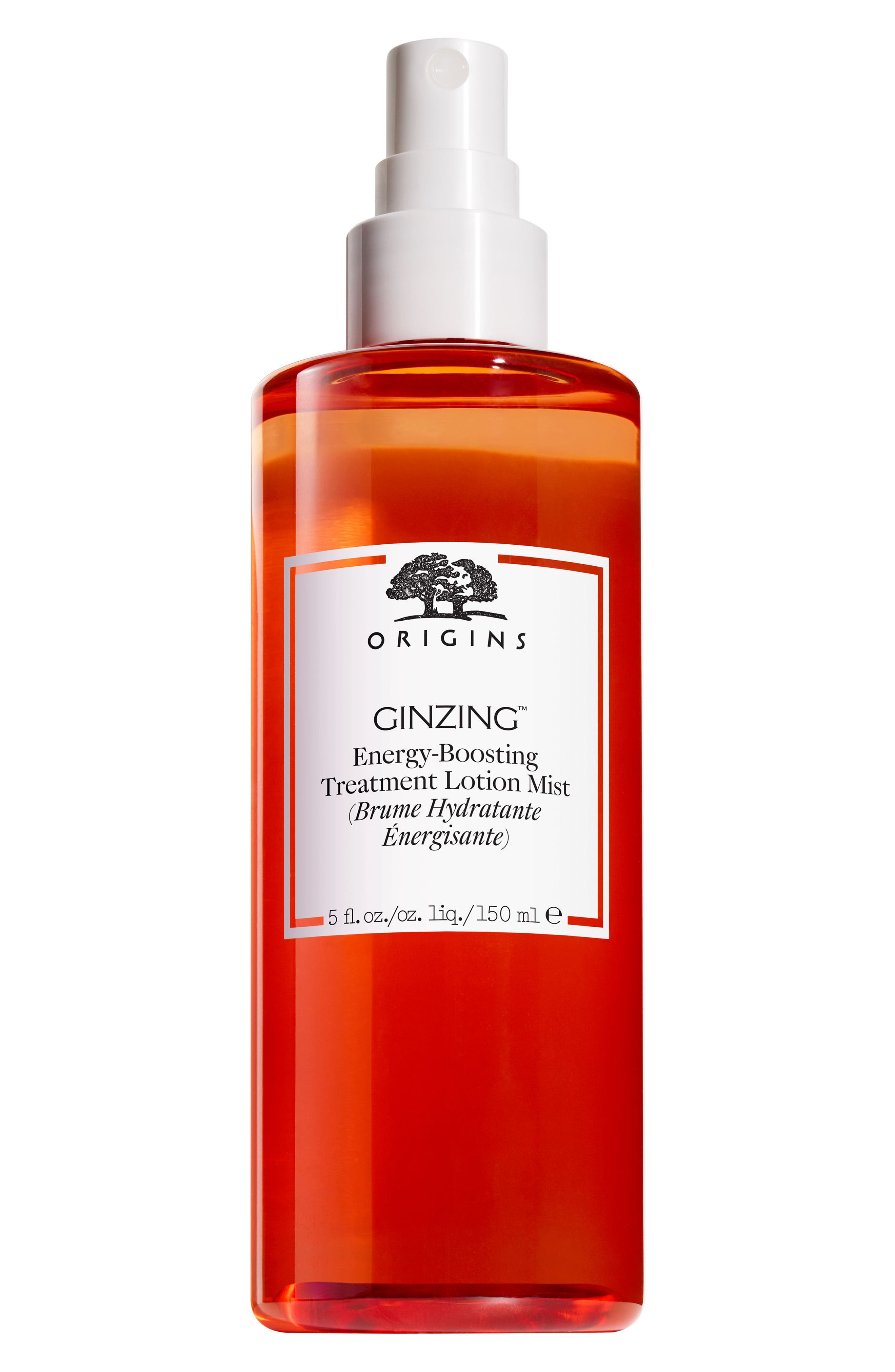 ORIGINS, GinZing<sup>™</sup> Energy-Boosting Treatment Lotion Mist, Main thumbnail 1, color, NO COLOR
