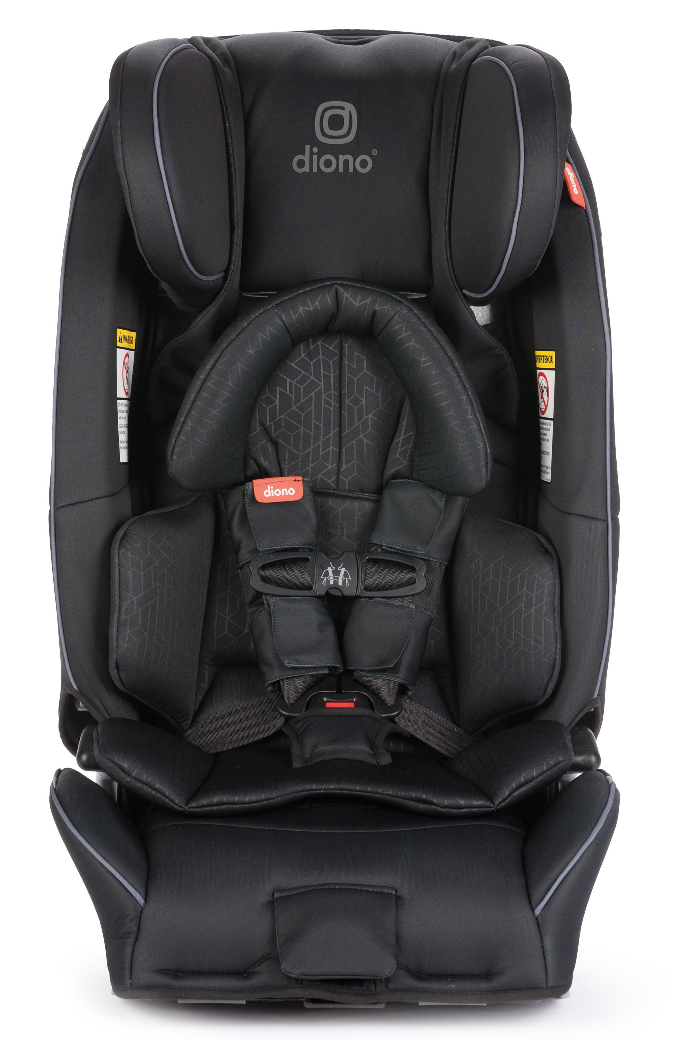 DIONO radian<sup>®</sup> 3 rXT Rear & Forward Facing Car Seat, Main, color, BLACK