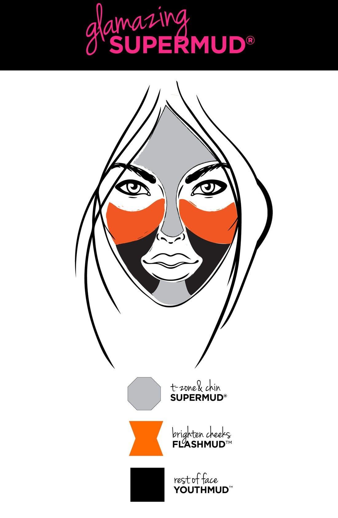 GLAMGLOW<SUP>®</SUP>, 'Glamazing SUPERMUD<sup>™</sup>' Set, Alternate thumbnail 2, color, 000