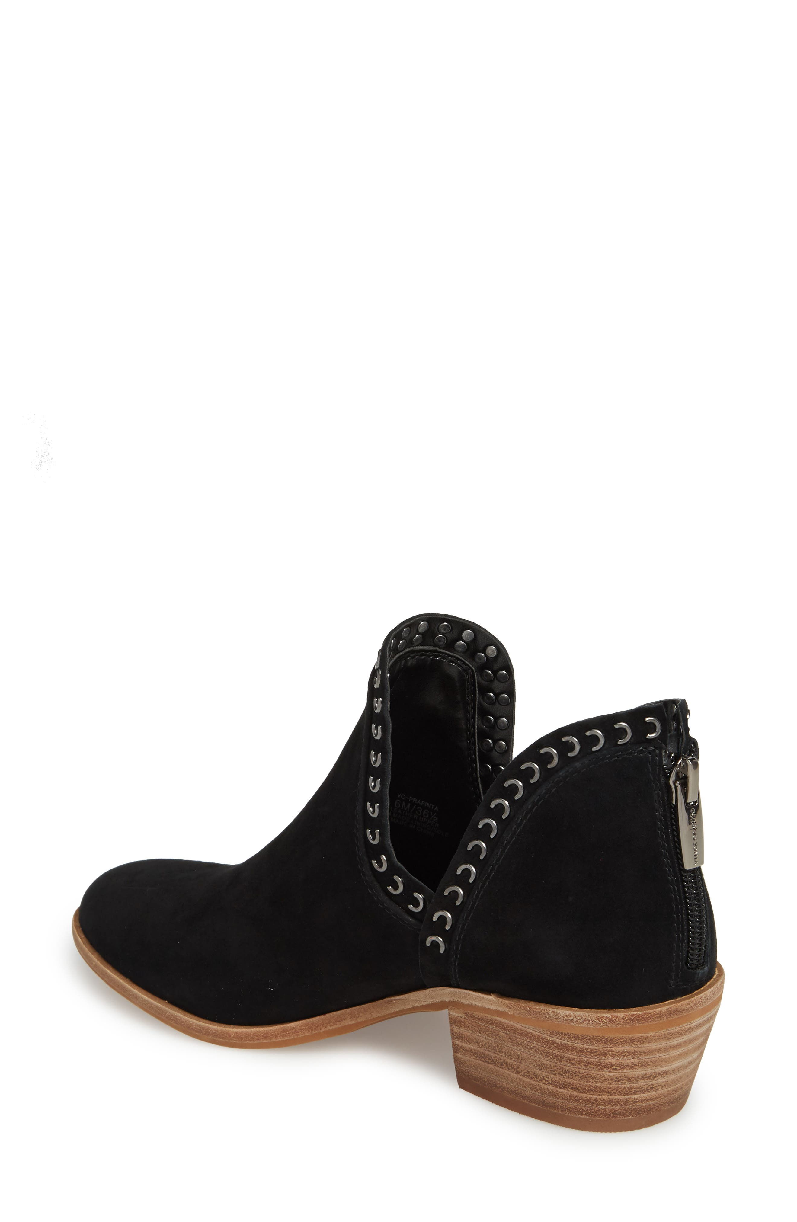 VINCE CAMUTO, Prafinta Boot, Alternate thumbnail 2, color, BLACK SUEDE