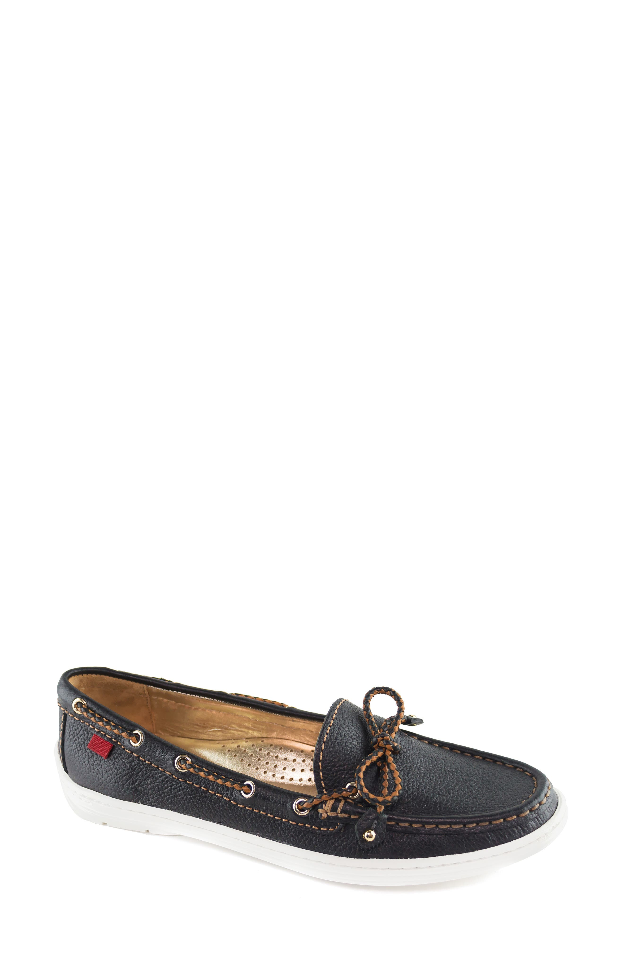 MARC JOSEPH NEW YORK, Pacific Loafer, Main thumbnail 1, color, BLACK LEATHER