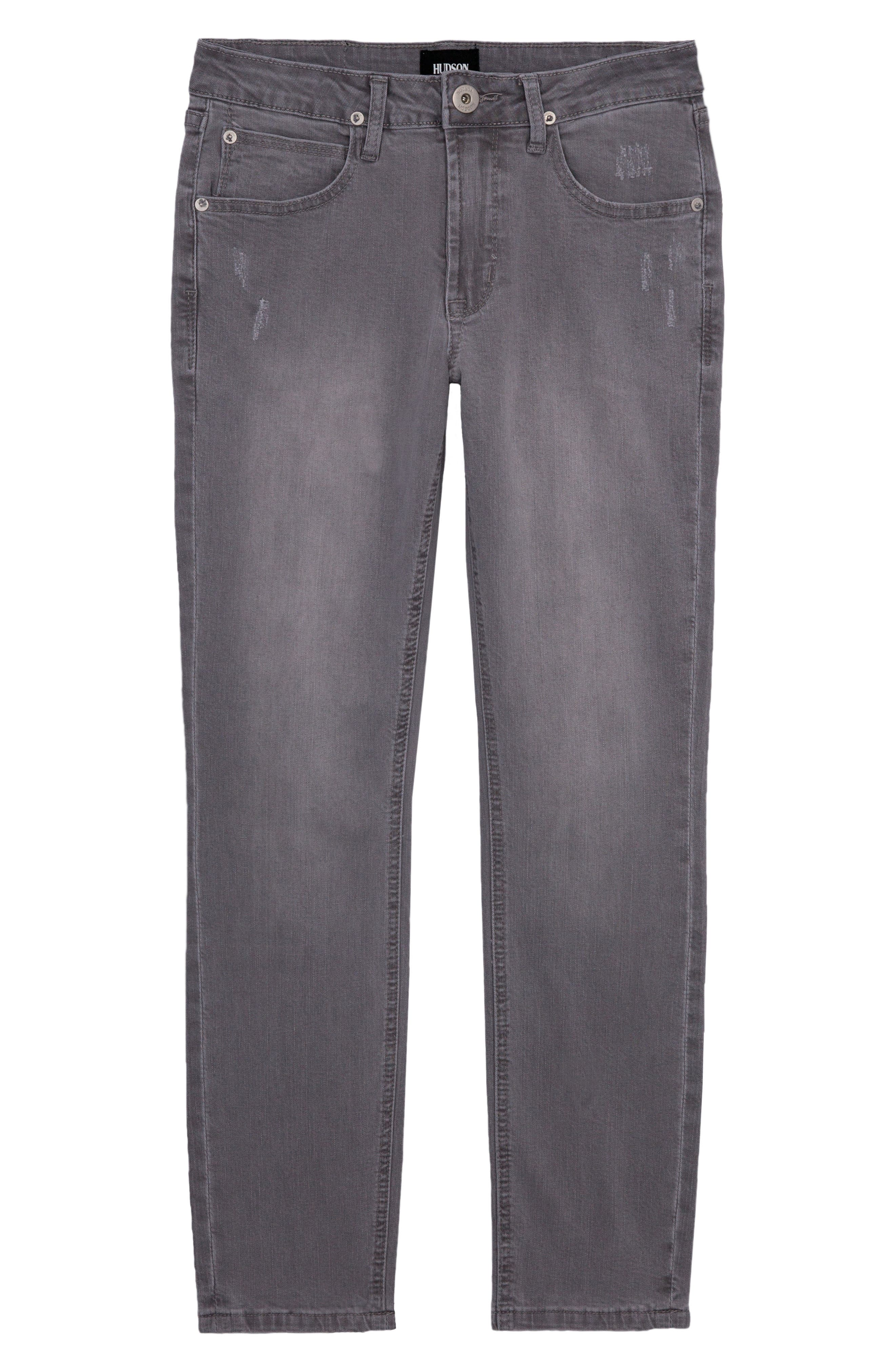 HUDSON KIDS Straight Leg Jeans, Main, color, 050