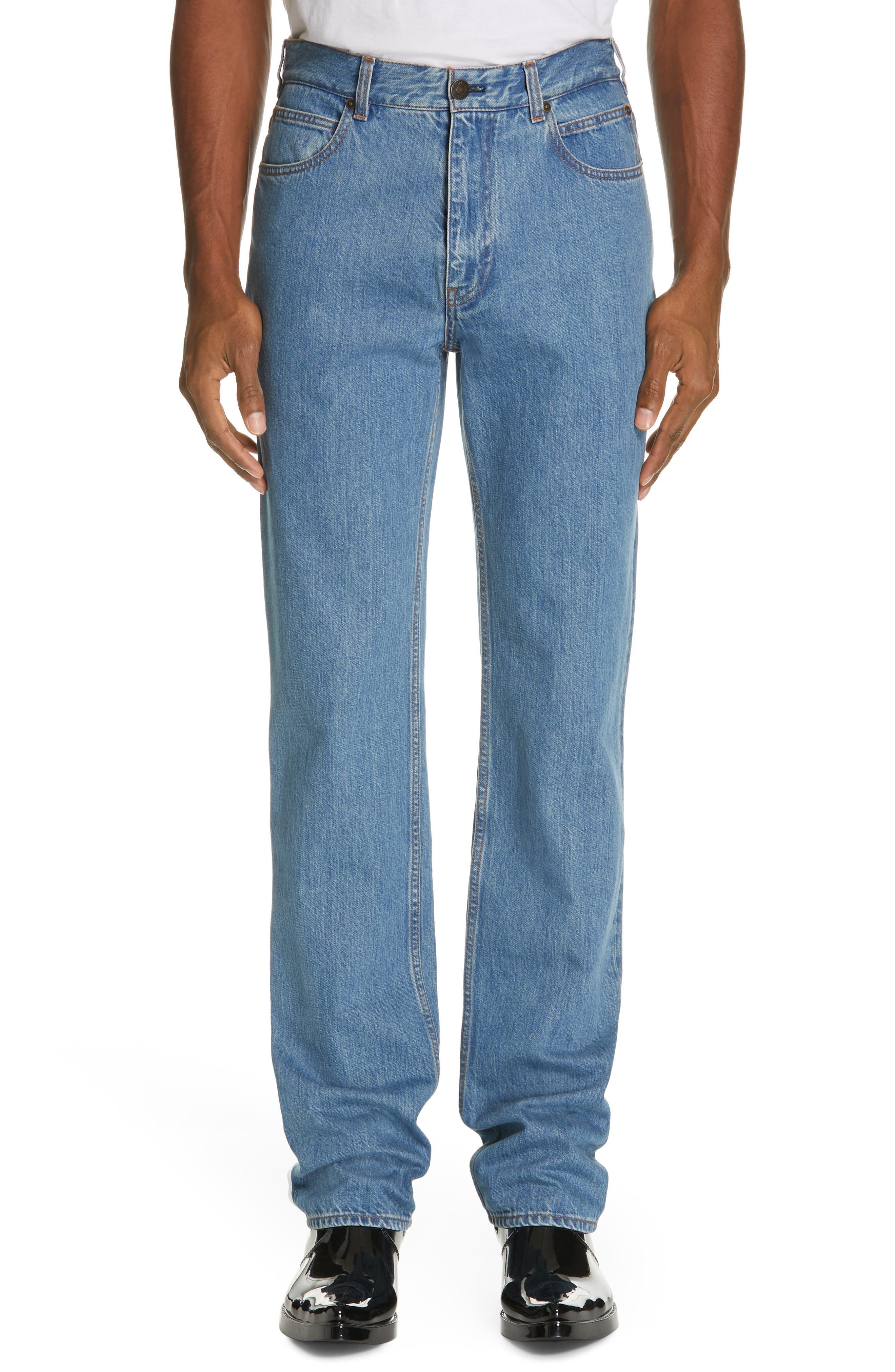 CALVIN KLEIN 205W39NYC, Jeans, Main thumbnail 1, color, BLUE