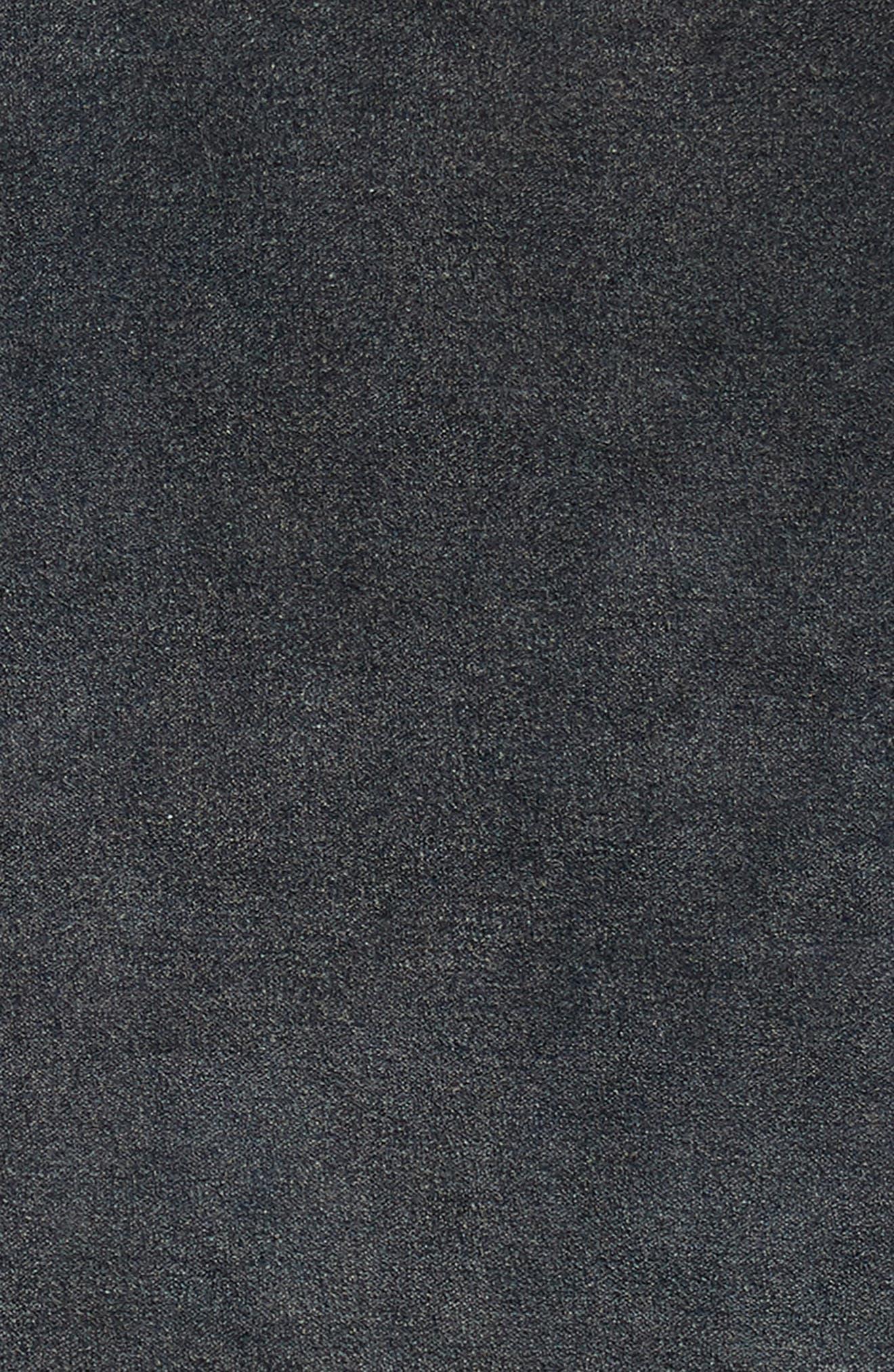 TREASURE & BOND, Stonewash Velvet Accent Pillow, Alternate thumbnail 3, color, NAVY BLUE