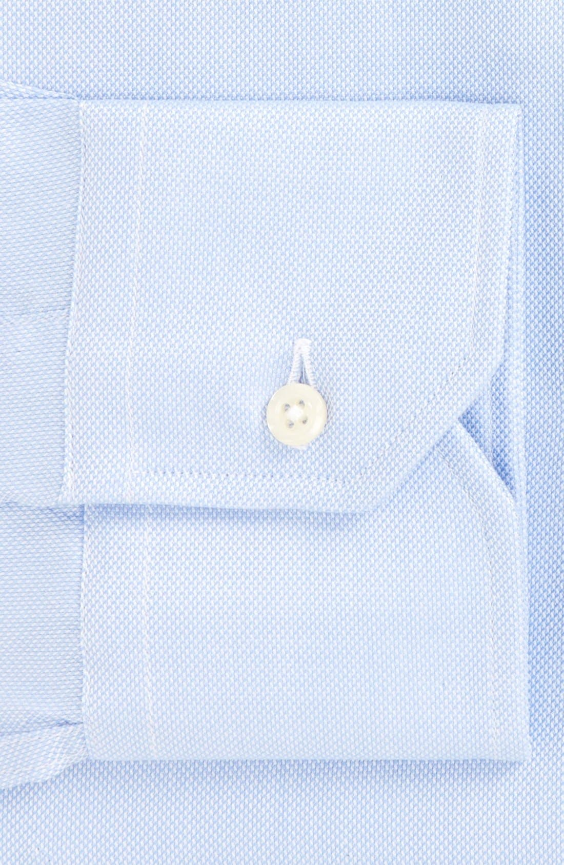 GITMAN, Royal Oxford Tailored Fit Dress Shirt, Alternate thumbnail 2, color, BLUE