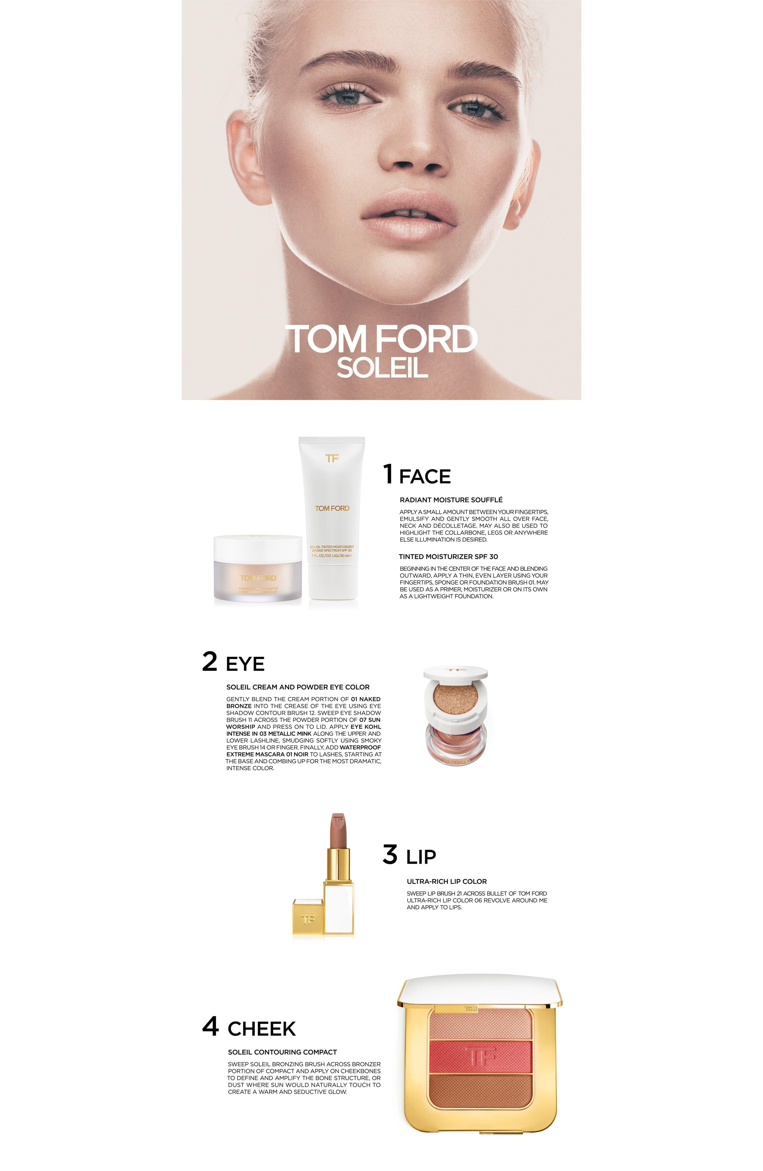 TOM FORD, Soleil Eye and Cheek Palette, Alternate thumbnail 3, color, 200