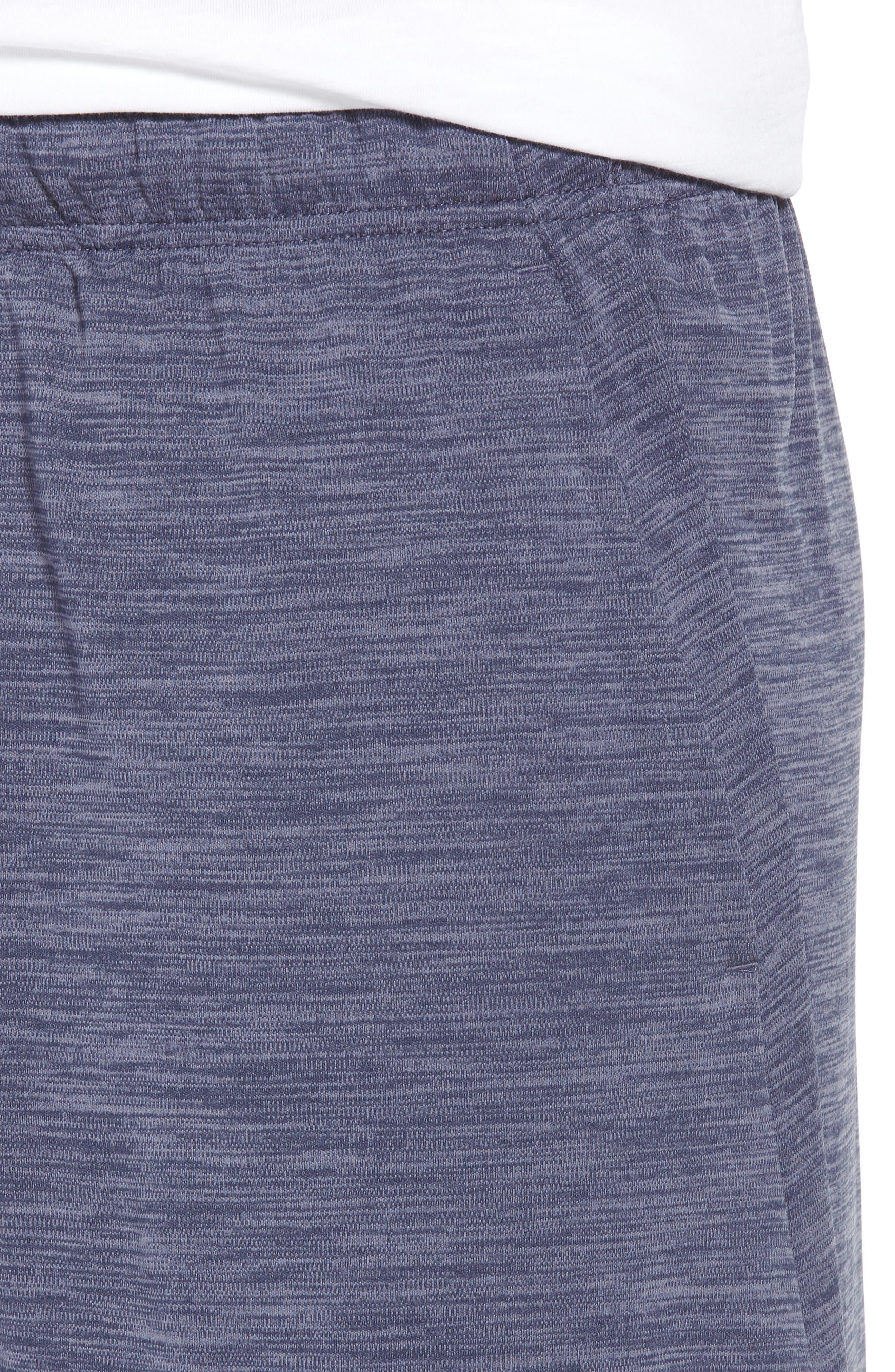 NIKE, Dry Training Shorts, Alternate thumbnail 5, color, LIGHT CARBON/ BLACK