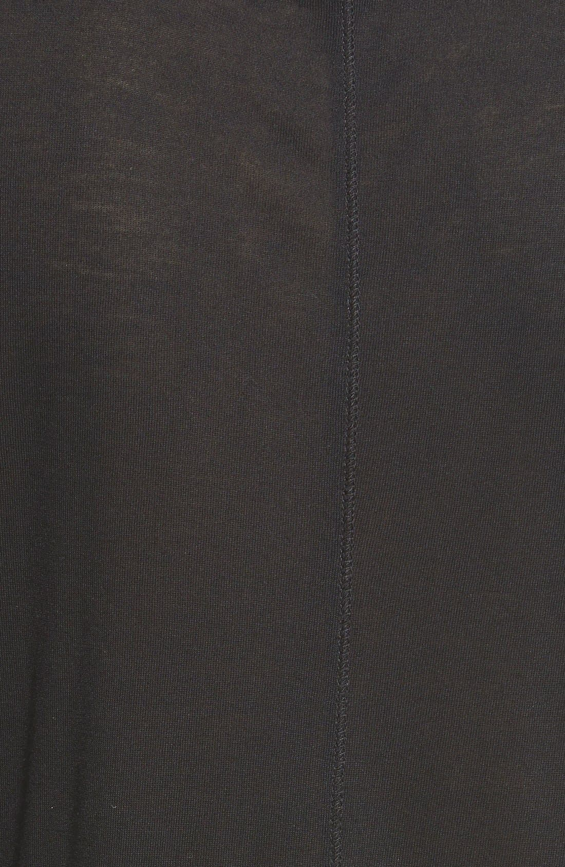 HALOGEN<SUP>®</SUP>, Long Sleeve Lightweight Tunic, Alternate thumbnail 8, color, 001