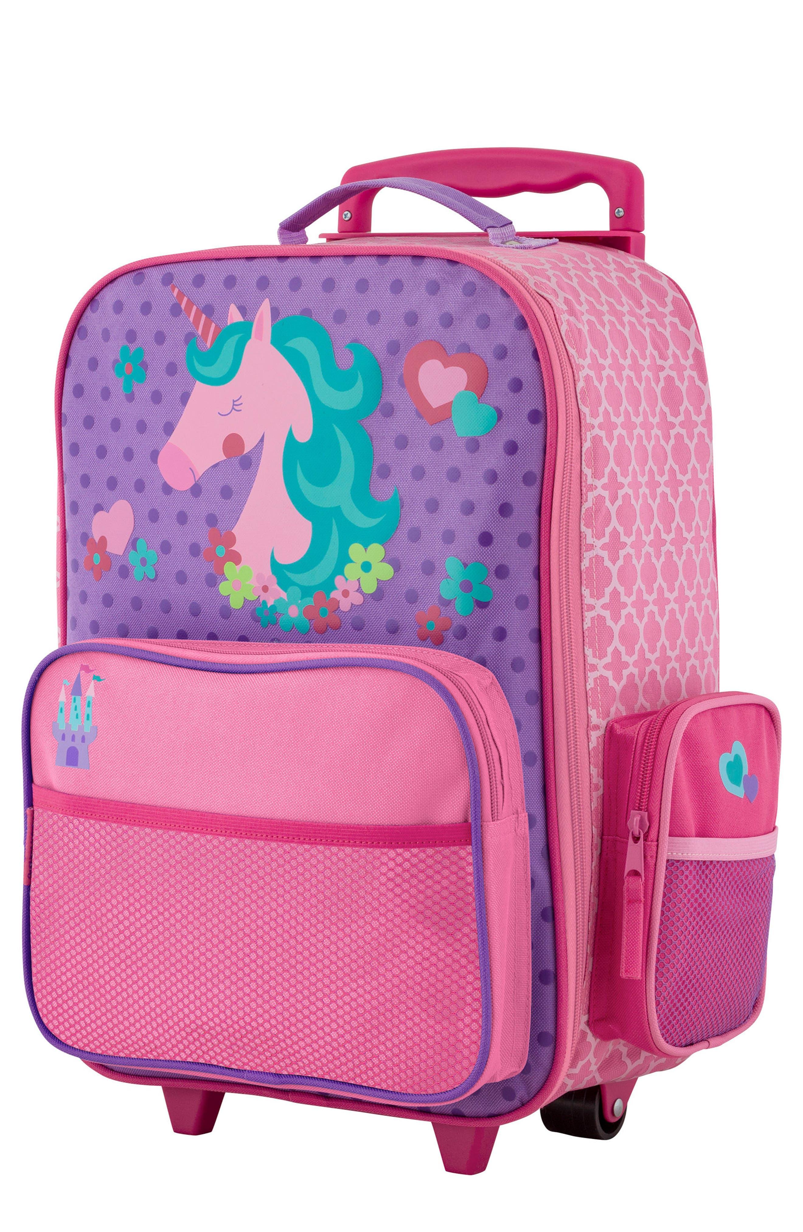 STEPHEN JOSEPH Rolling Suitcase, Main, color, UNICORN
