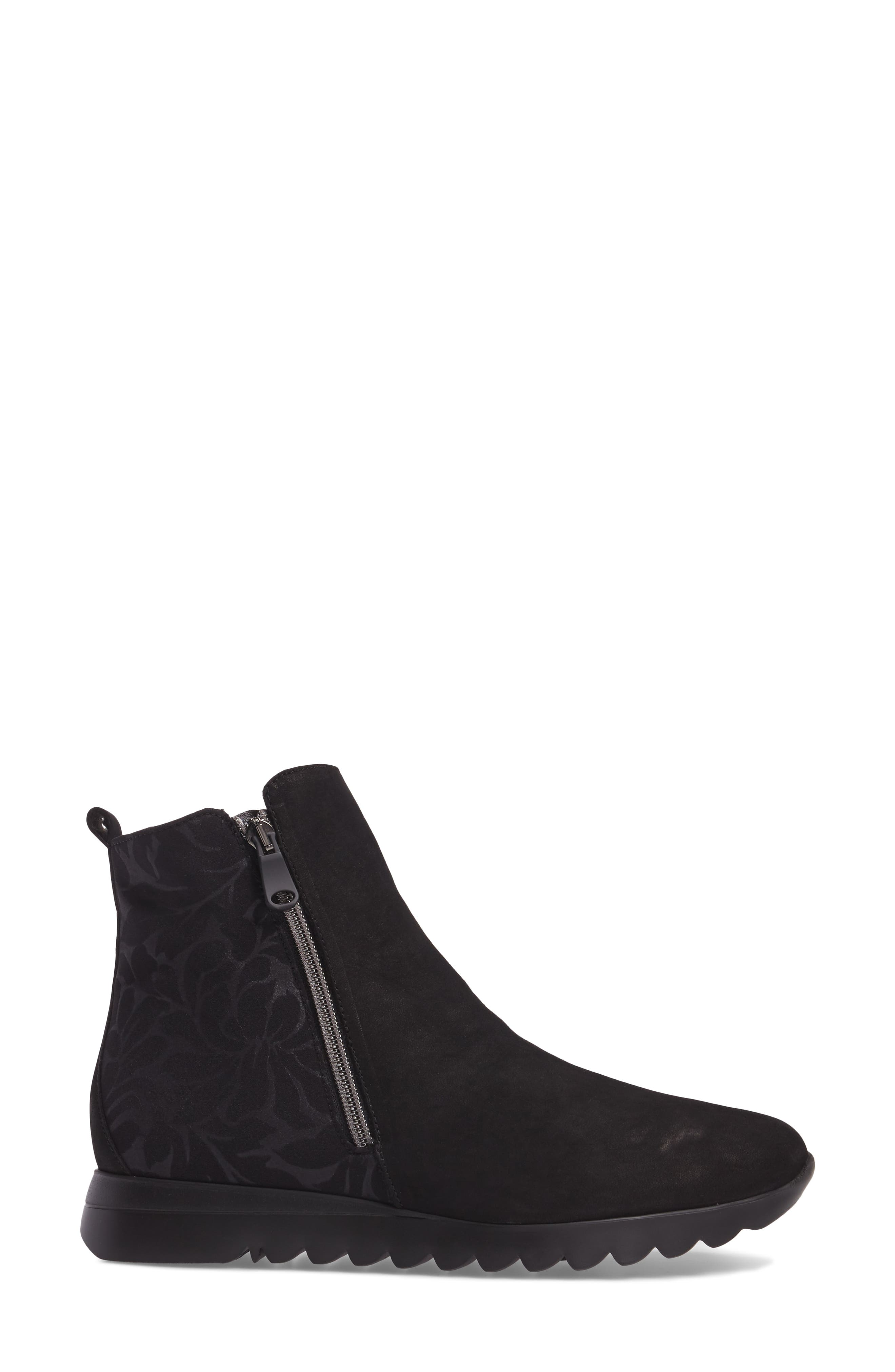 MUNRO, Ashcroft Bootie, Alternate thumbnail 3, color, BLACK NUBUCK