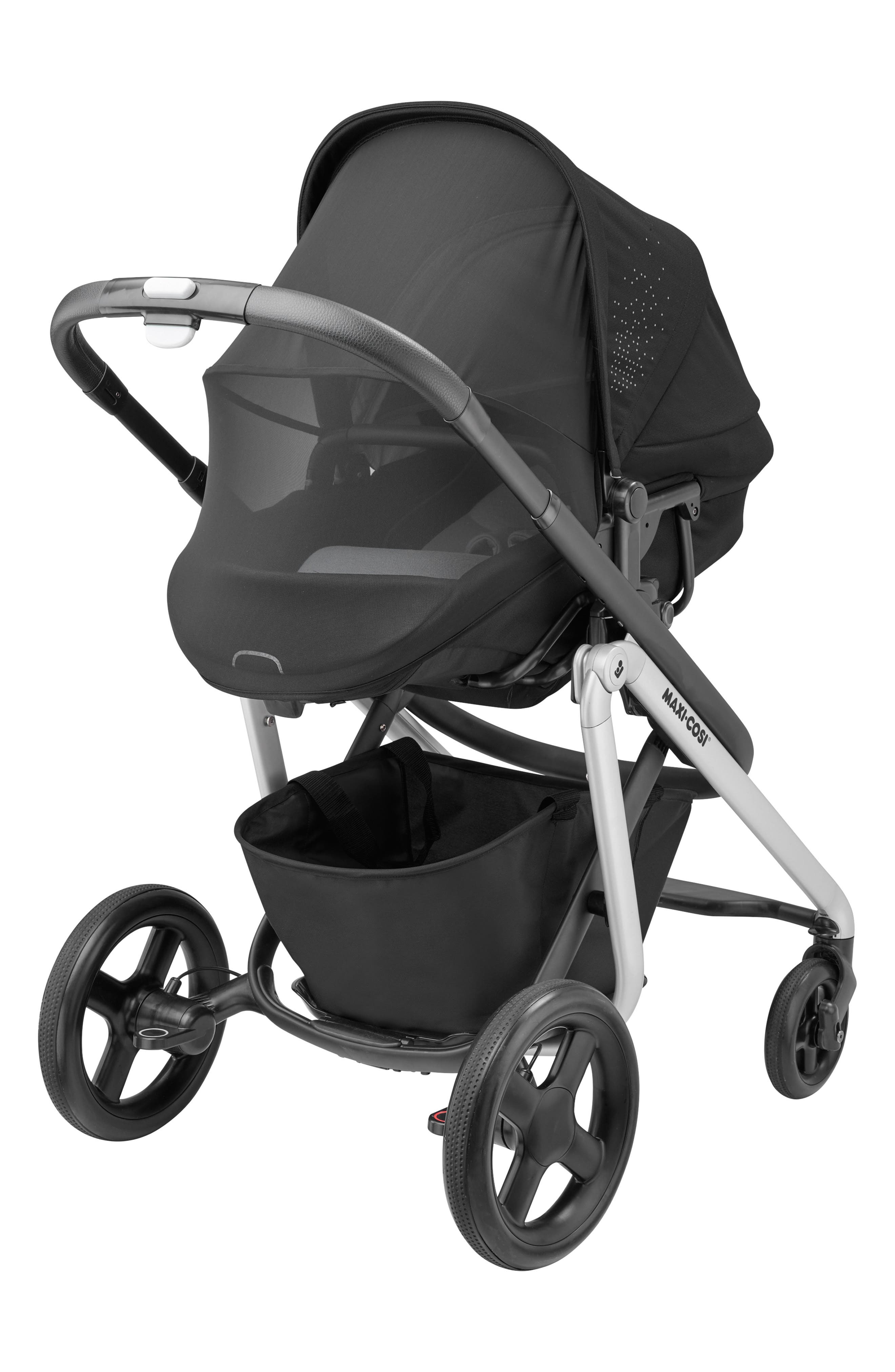 MAXI-COSI<SUP>®</SUP>, Lila Modular Stroller, Alternate thumbnail 9, color, NOMAD BLACK