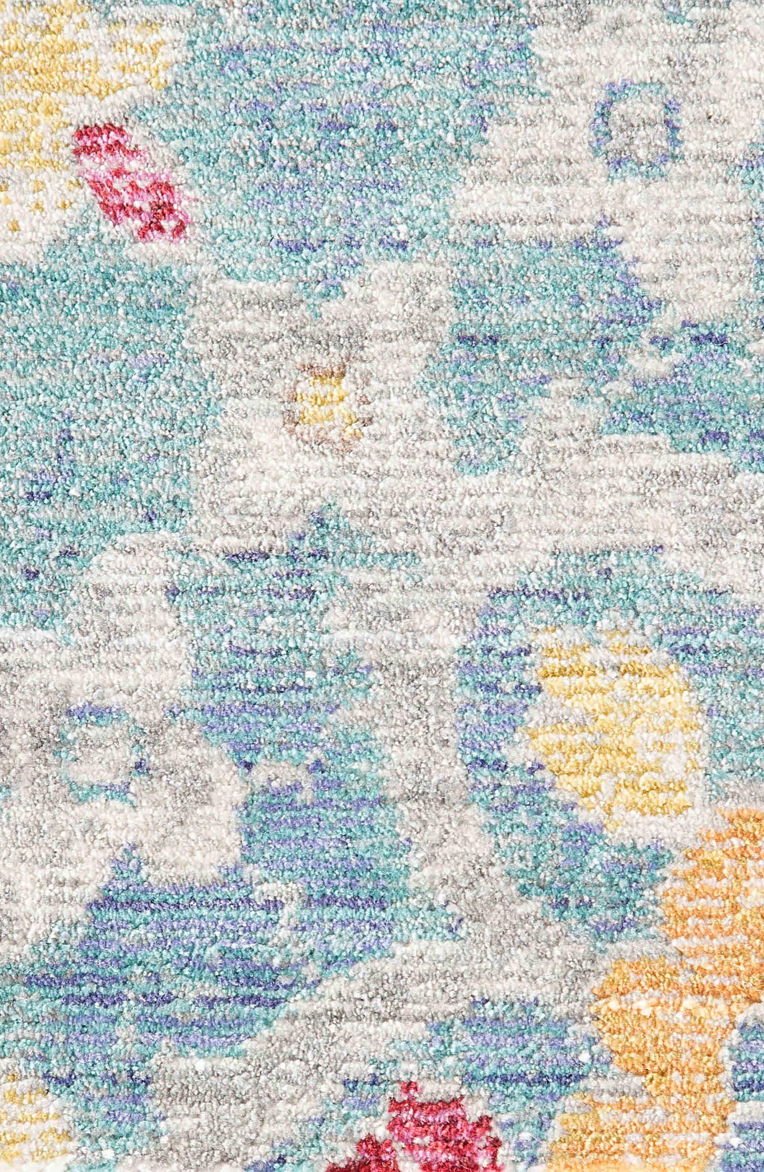 JAIPUR, Valentinino Rug, Alternate thumbnail 4, color, FADED BLUE