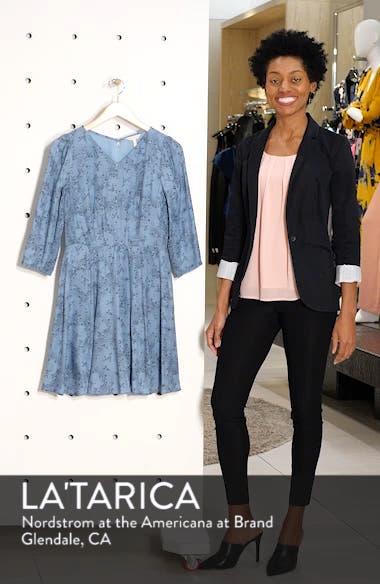 Gianna Floral Silk Dress, sales video thumbnail