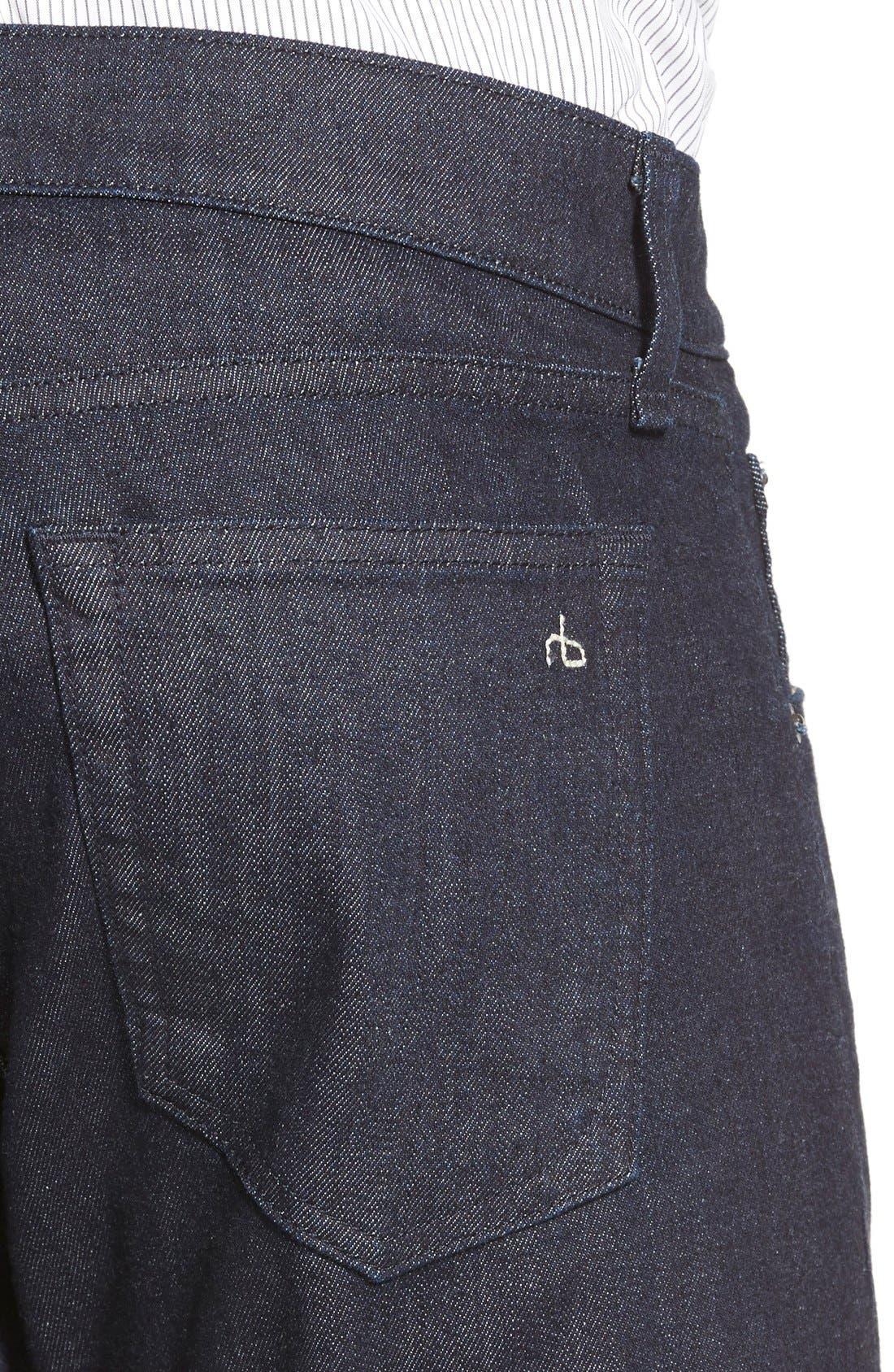 RAG & BONE, Standard Issue Fit 2 Slim Fit Jeans, Alternate thumbnail 7, color, TONAL RINSE