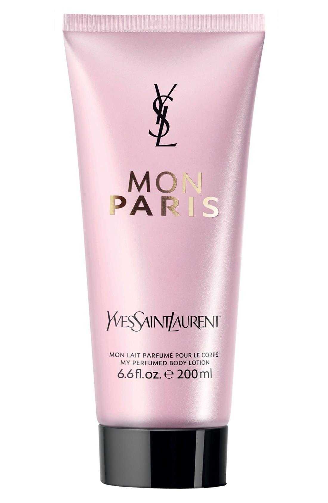 YVES SAINT LAURENT, Mon Paris Perfumed Body Lotion, Main thumbnail 1, color, NO COLOR