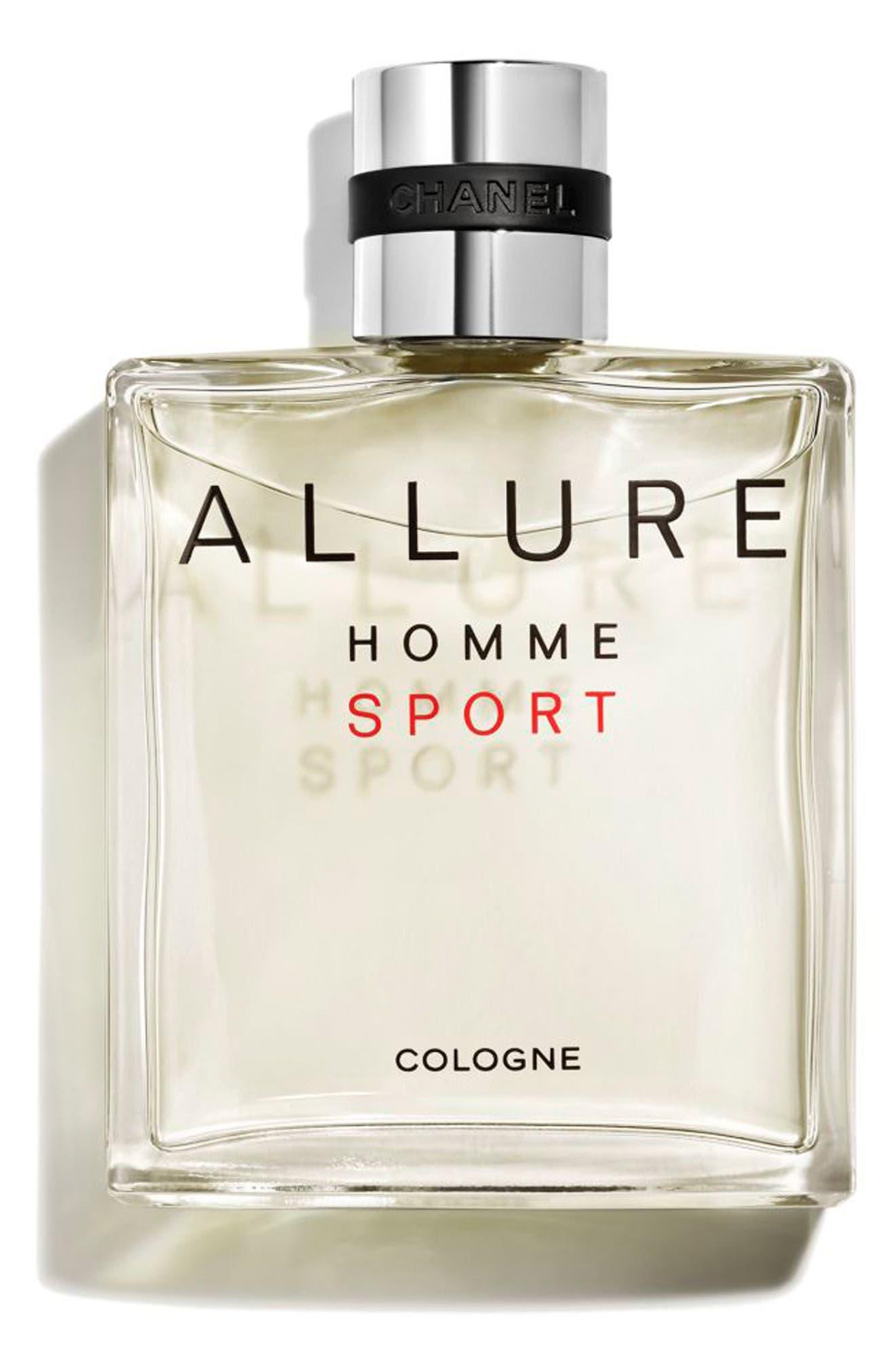 CHANEL, ALLURE HOMME SPORT Cologne Spray, Alternate thumbnail 2, color, NO COLOR