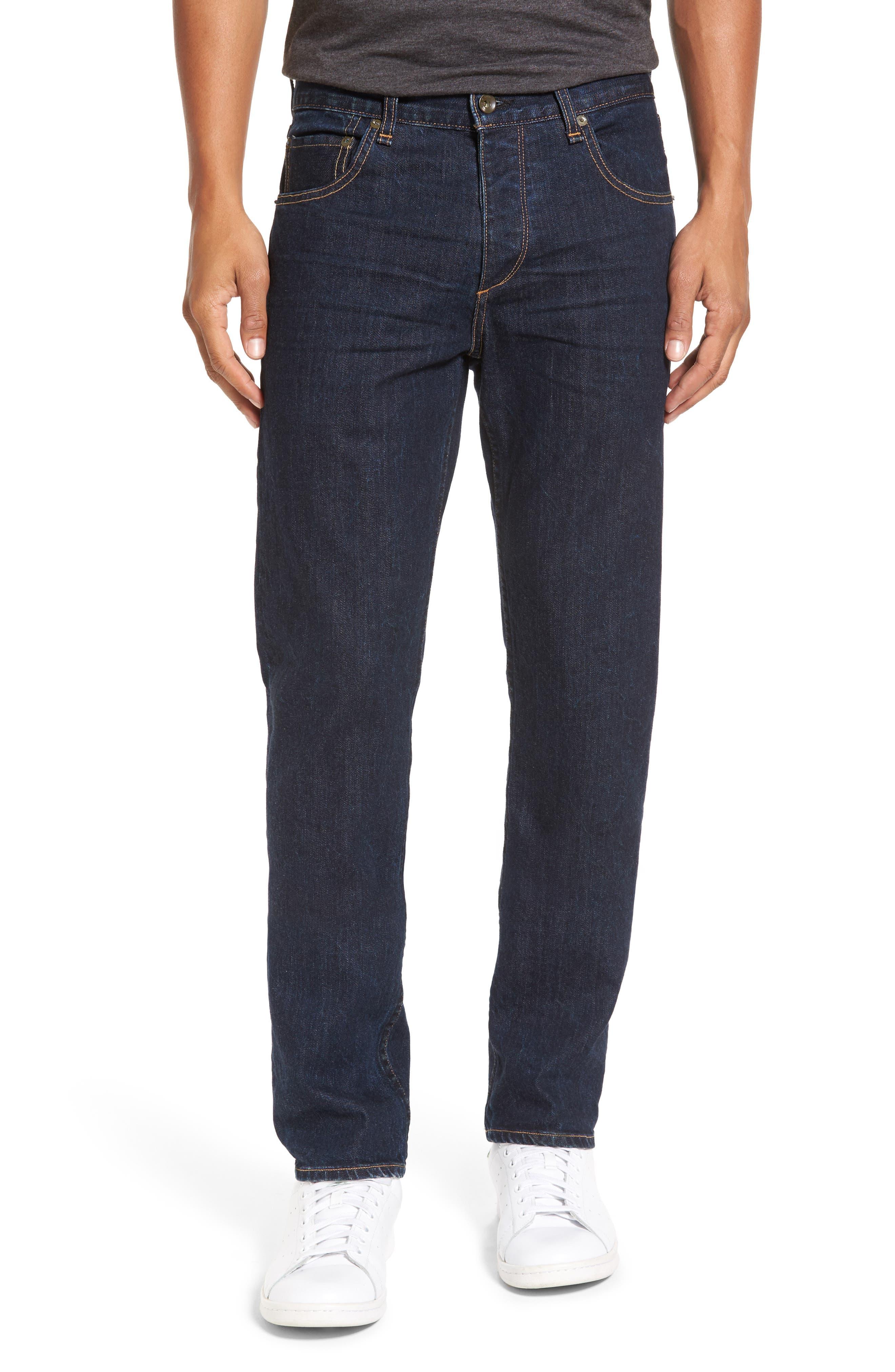 RAG & BONE Standard Issue Fit 3 Slim Straight Leg Jeans, Main, color, HERITAGE