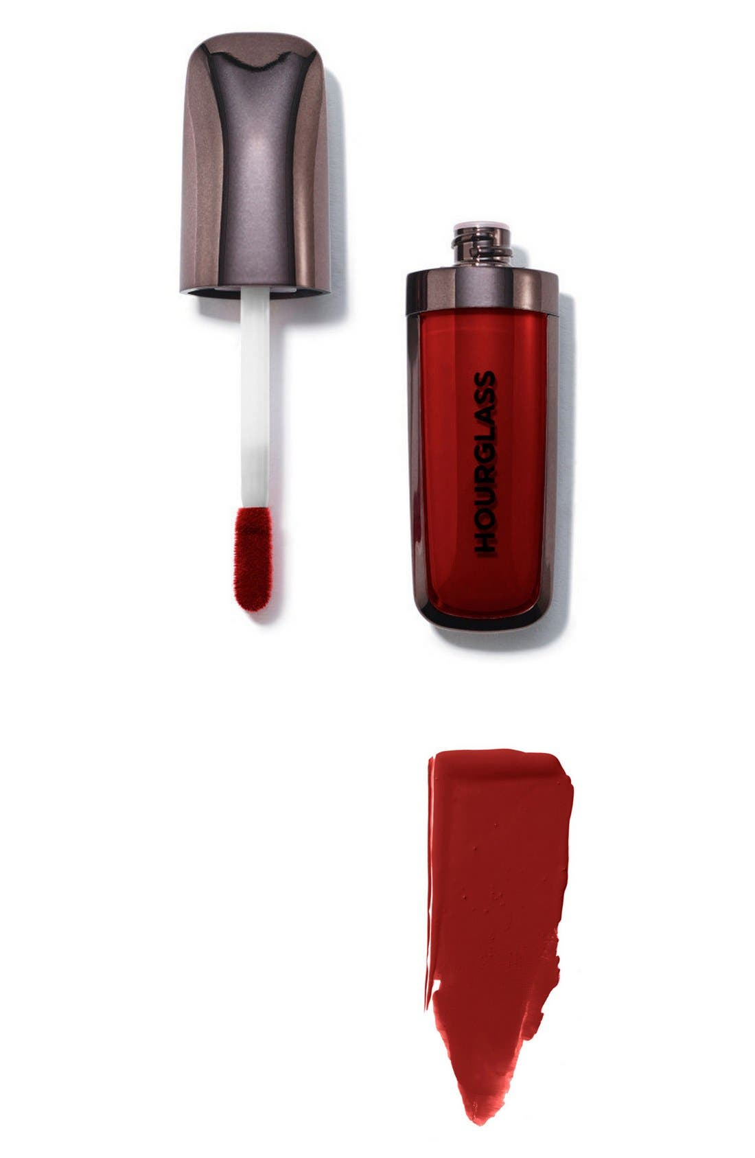 HOURGLASS, Opaque Rouge Liquid Lipstick, Alternate thumbnail 3, color, BALLET
