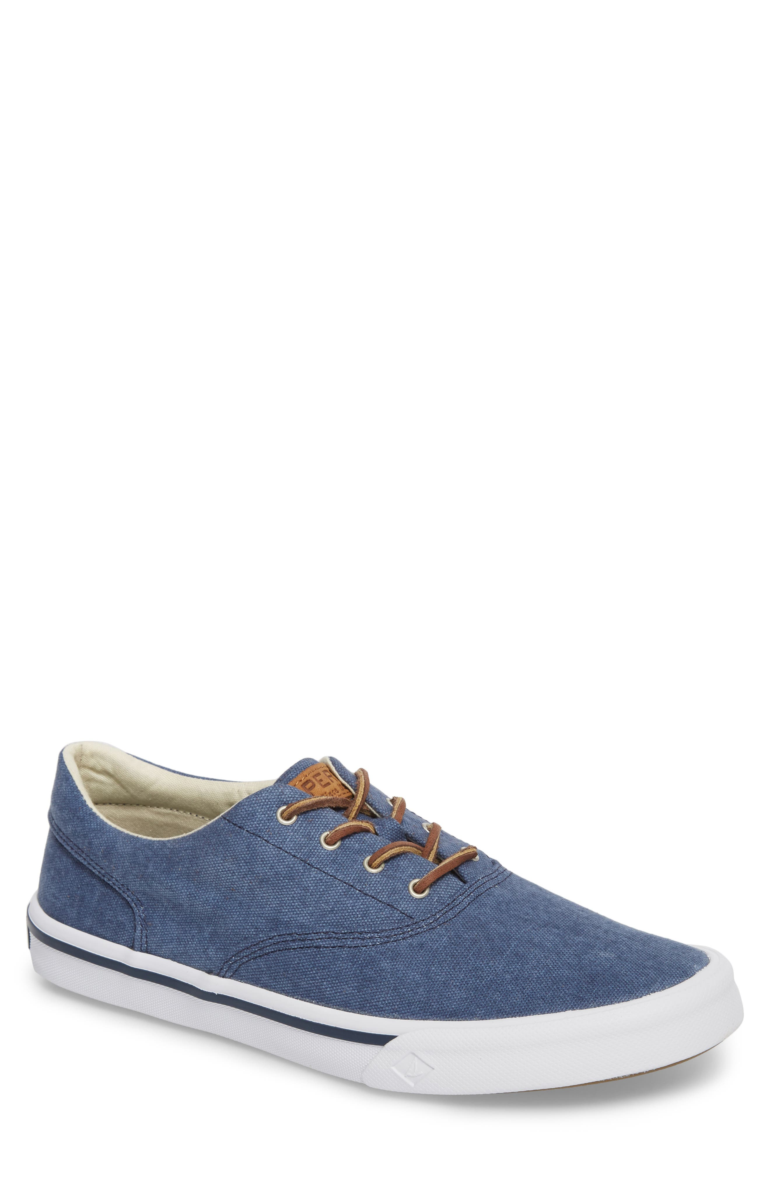 SPERRY 'Striper LL' Sneaker, Main, color, NAVY FABRIC