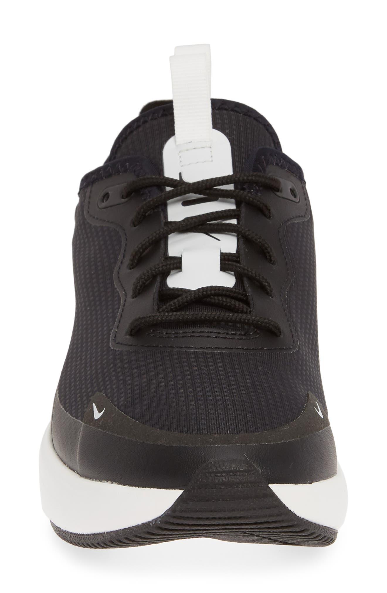 NIKE, Air Max Dia Sneaker, Alternate thumbnail 4, color, BLACK/ SUMMIT WHITE