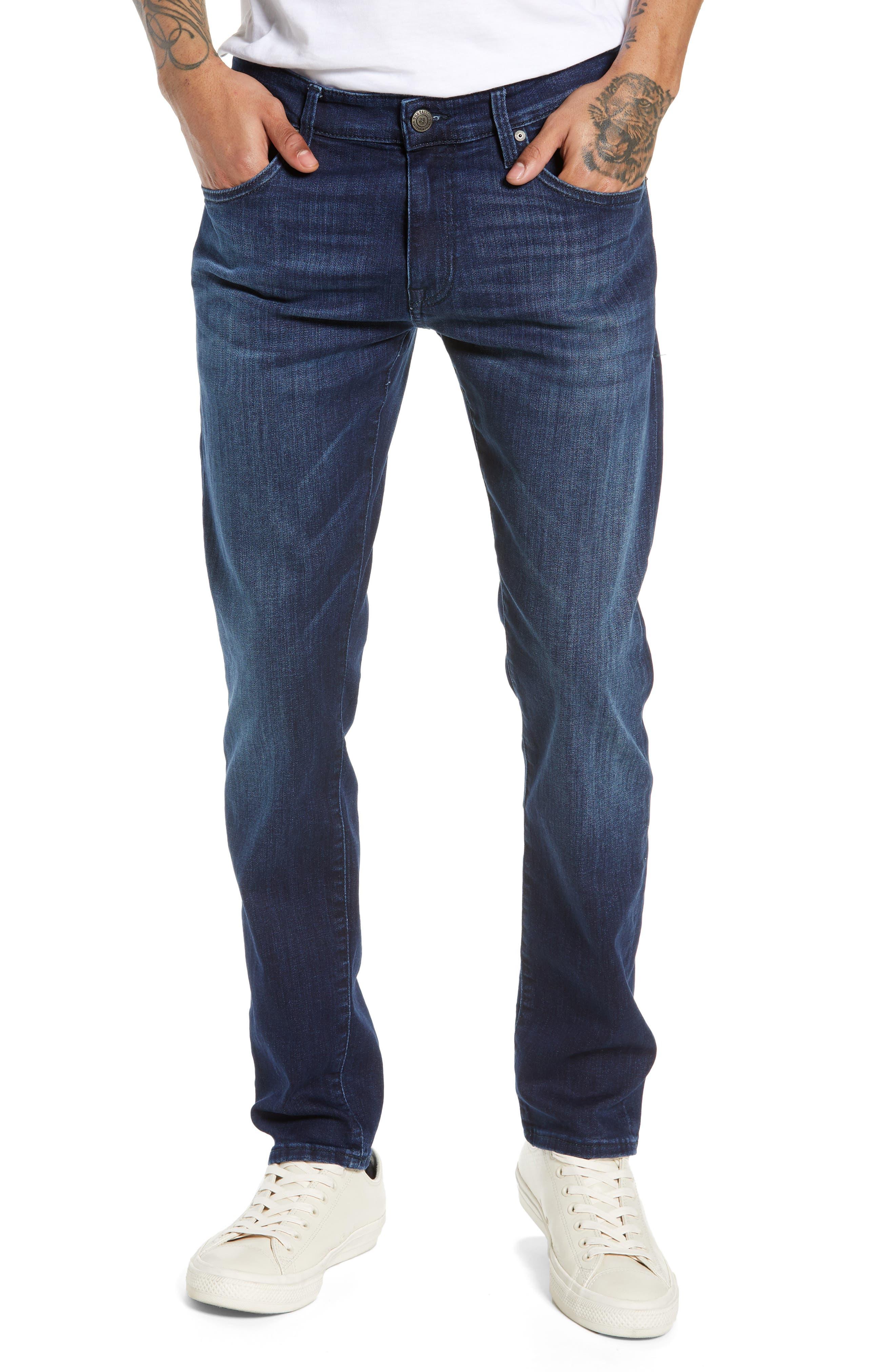 MAVI JEANS Jake Slim Fit Jeans, Main, color, DARK TONAL WILLIAMSBURG
