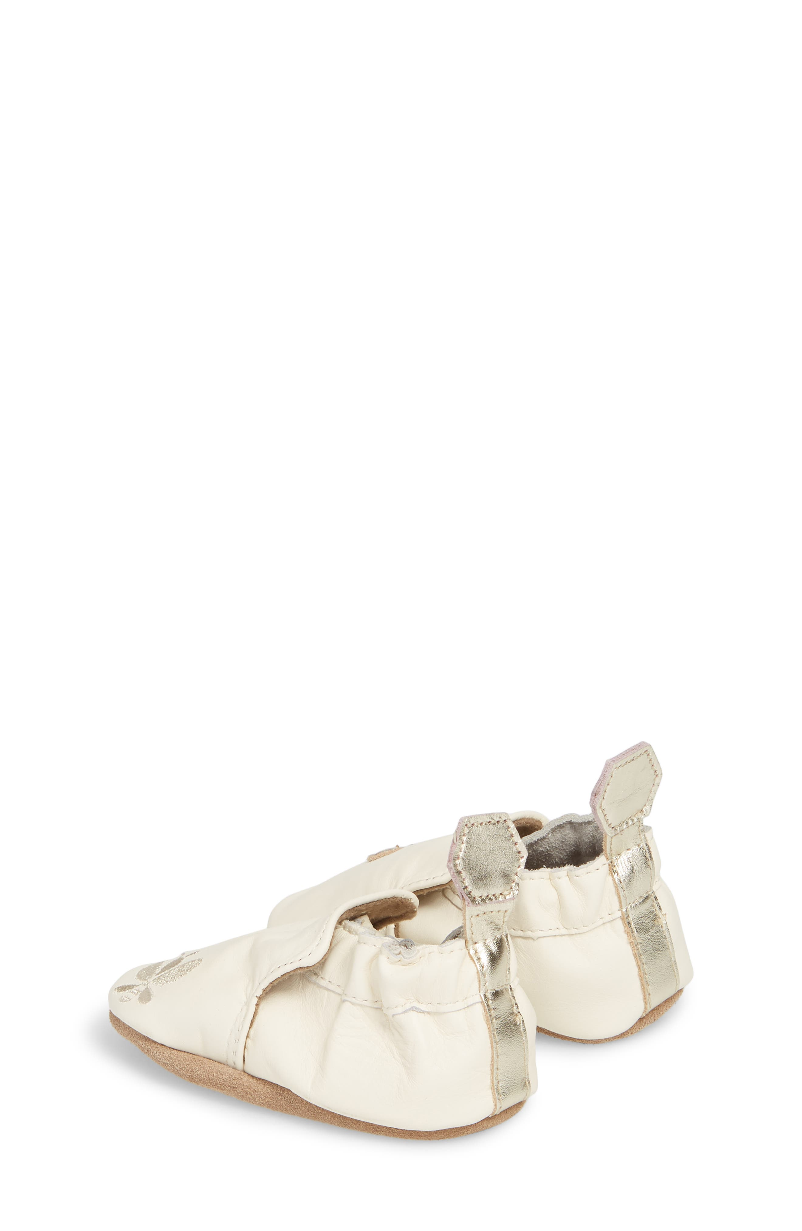 ROBEEZ<SUP>®</SUP>, Bee Moccasin Sneaker, Alternate thumbnail 2, color, CREAM