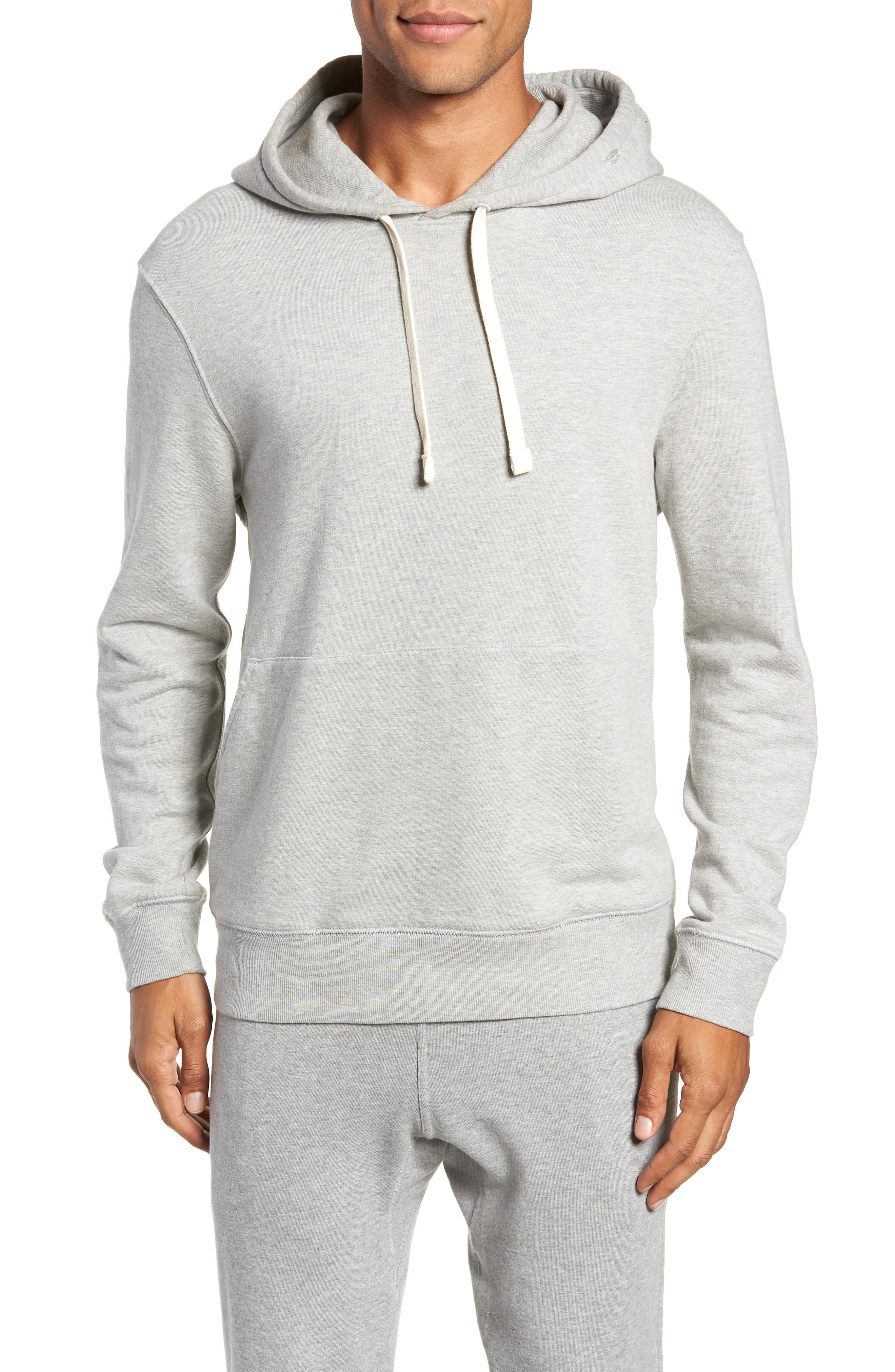 RICHER POORER, Hoodie, Main thumbnail 1, color, HEATHER GREY