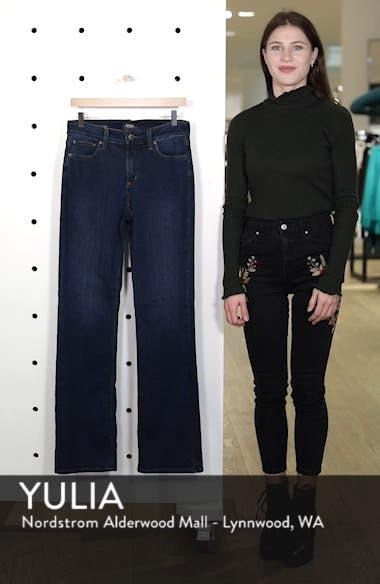 Barbara High Waist Stretch Bootcut Jeans, sales video thumbnail
