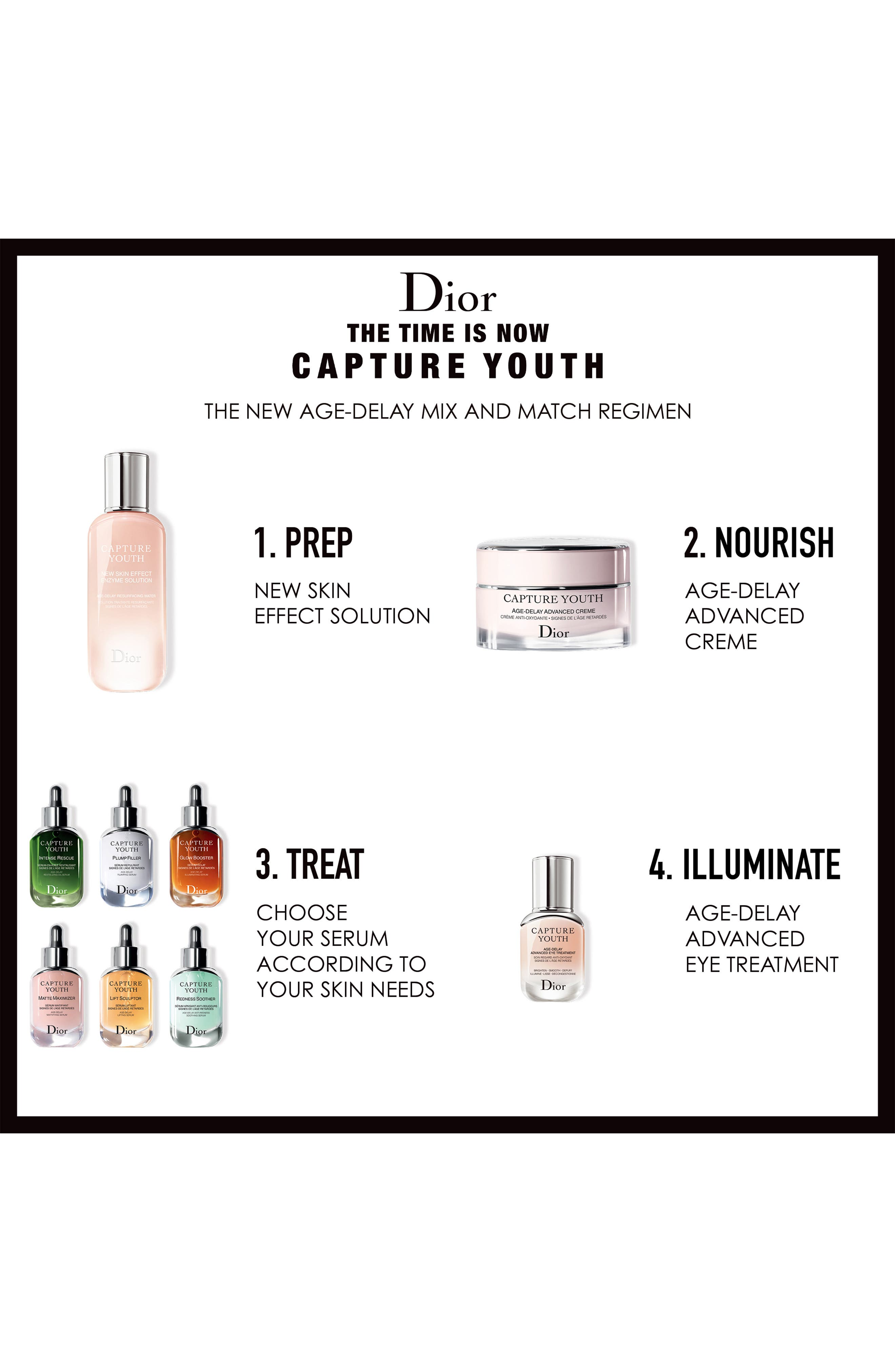 DIOR, Capture Youth Glow Booster Age-Delay Illuminating Serum, Alternate thumbnail 5, color, NO COLOR