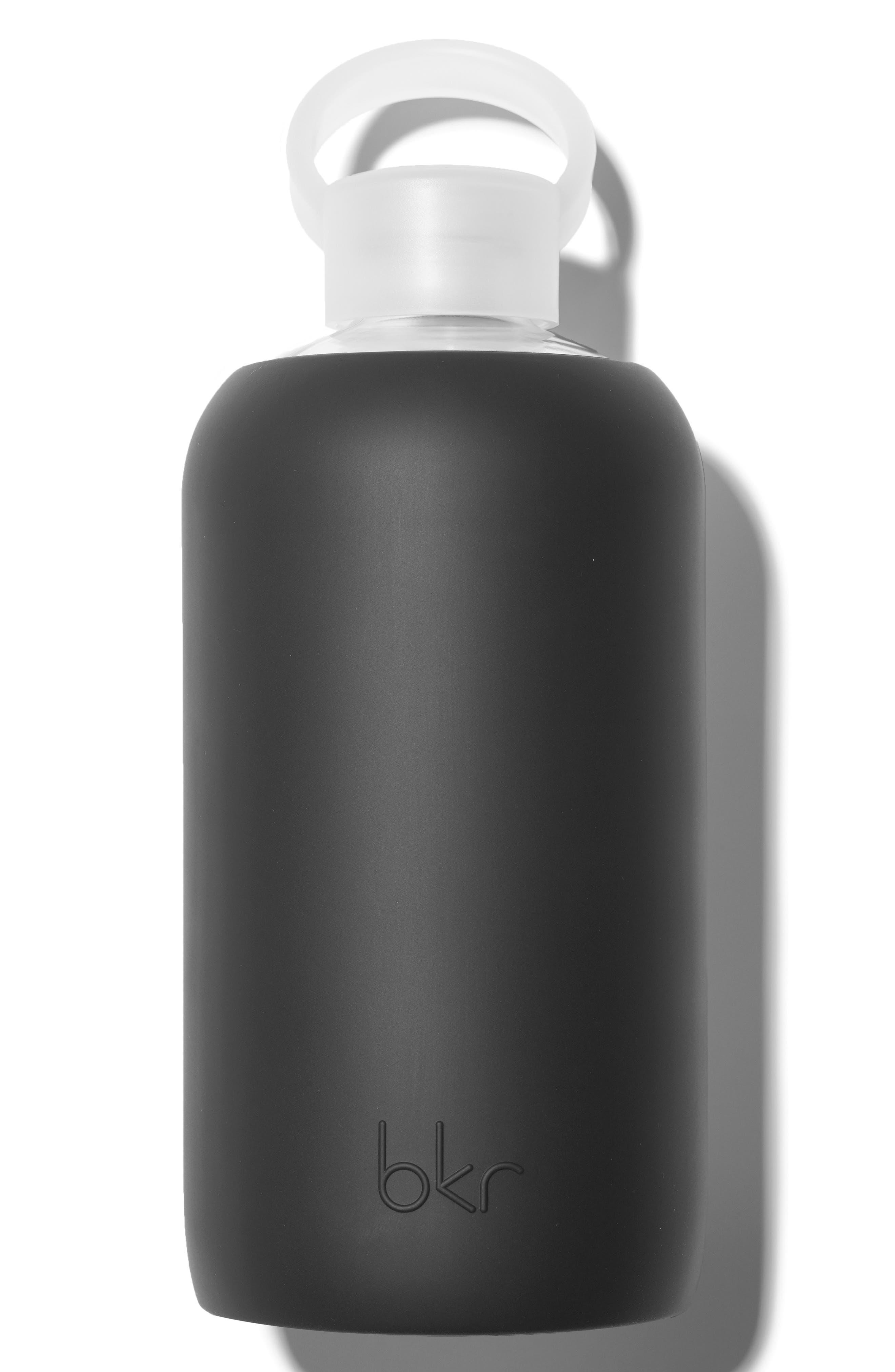 BKR,  32-Ounce Glass Water Bottle, Main thumbnail 1, color, 003