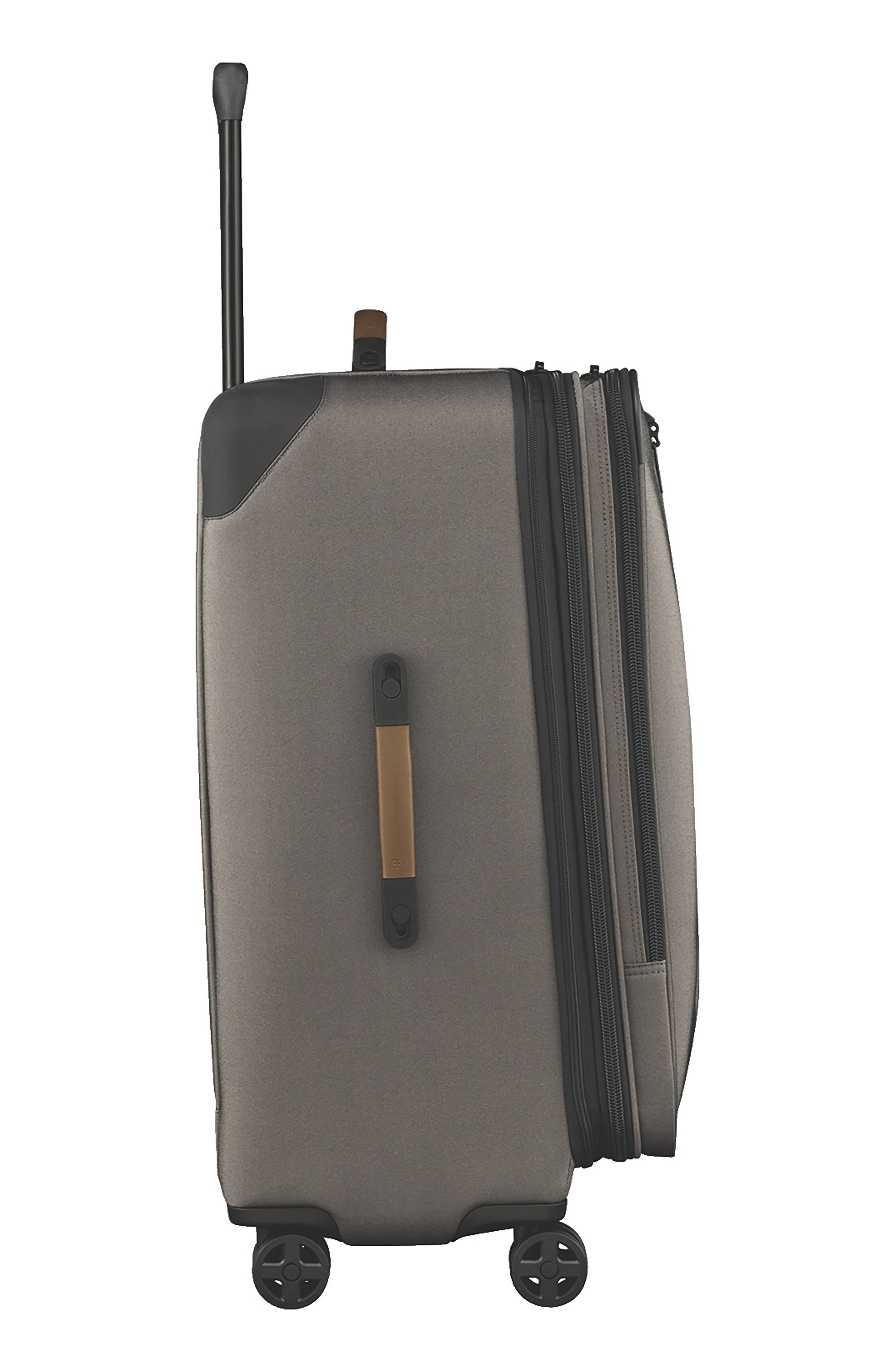 VICTORINOX SWISS ARMY<SUP>®</SUP>, Lexicon 2.0 28-Inch Wheeled Suitcase, Alternate thumbnail 3, color, GREY