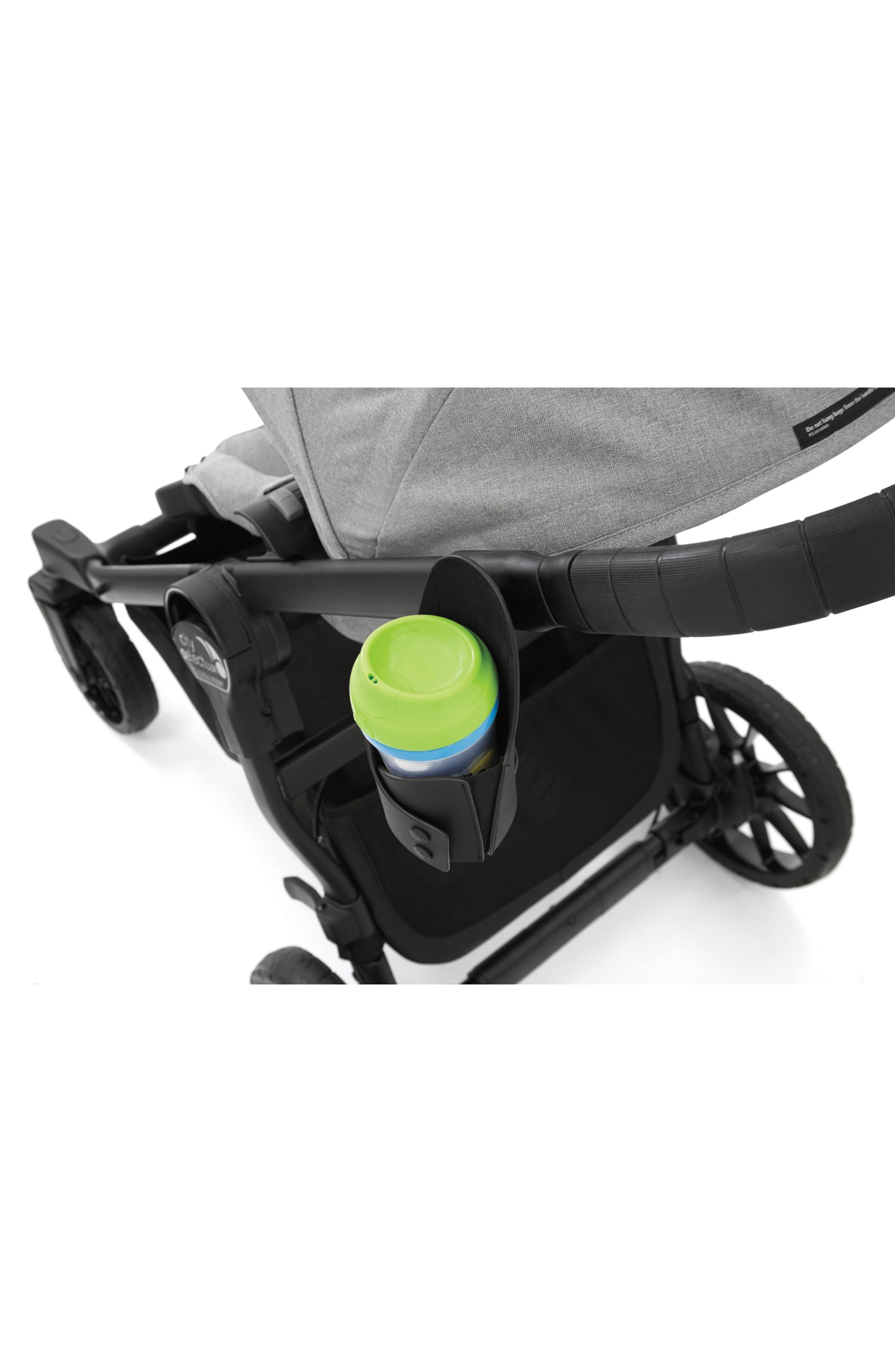 BABY JOGGER, Lux Cup Holder For City Select<sup>®</sup> Stroller, Alternate thumbnail 4, color, BLACK