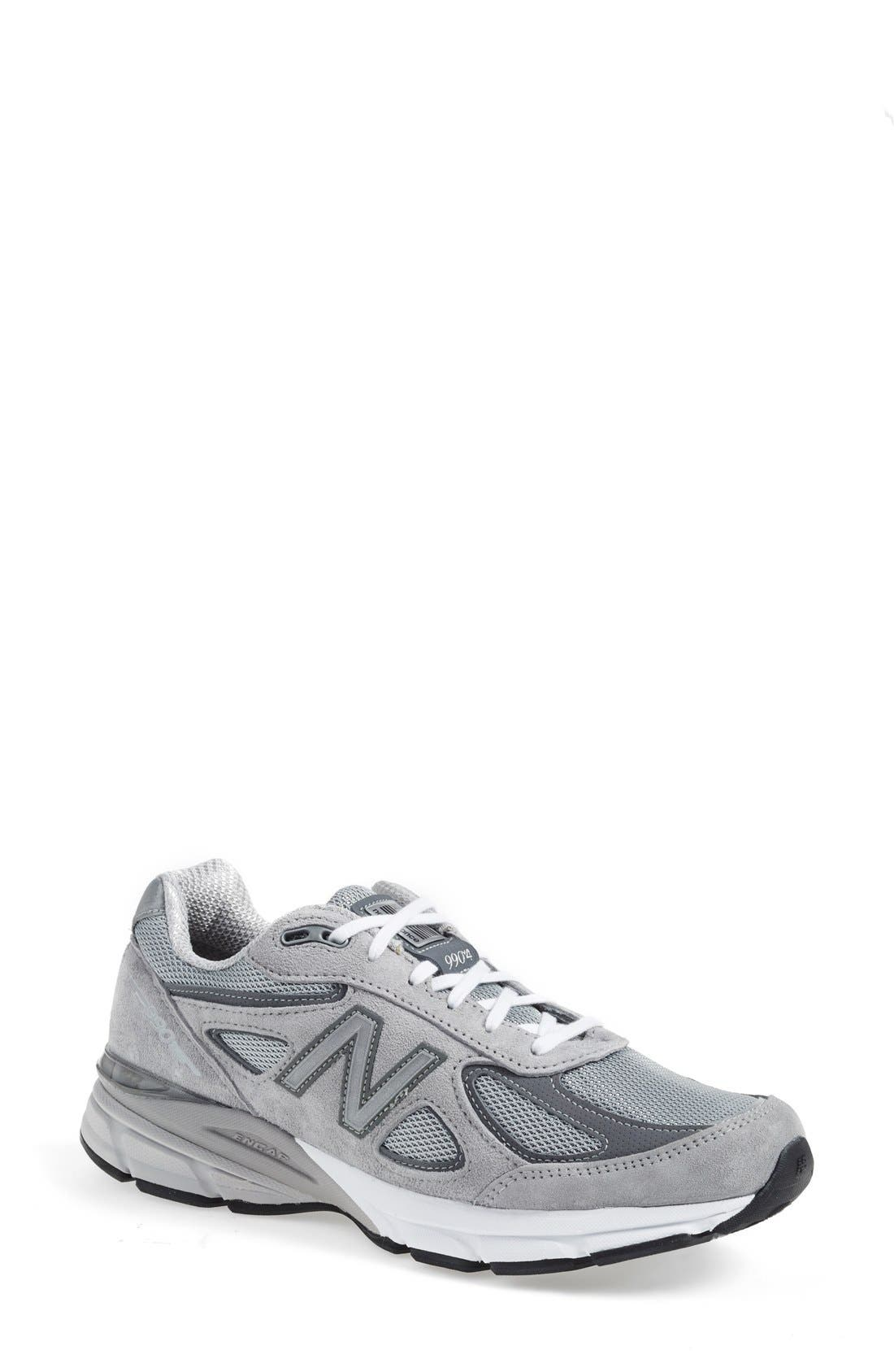 NEW BALANCE '990' Running Shoe, Main, color, COOL GREY