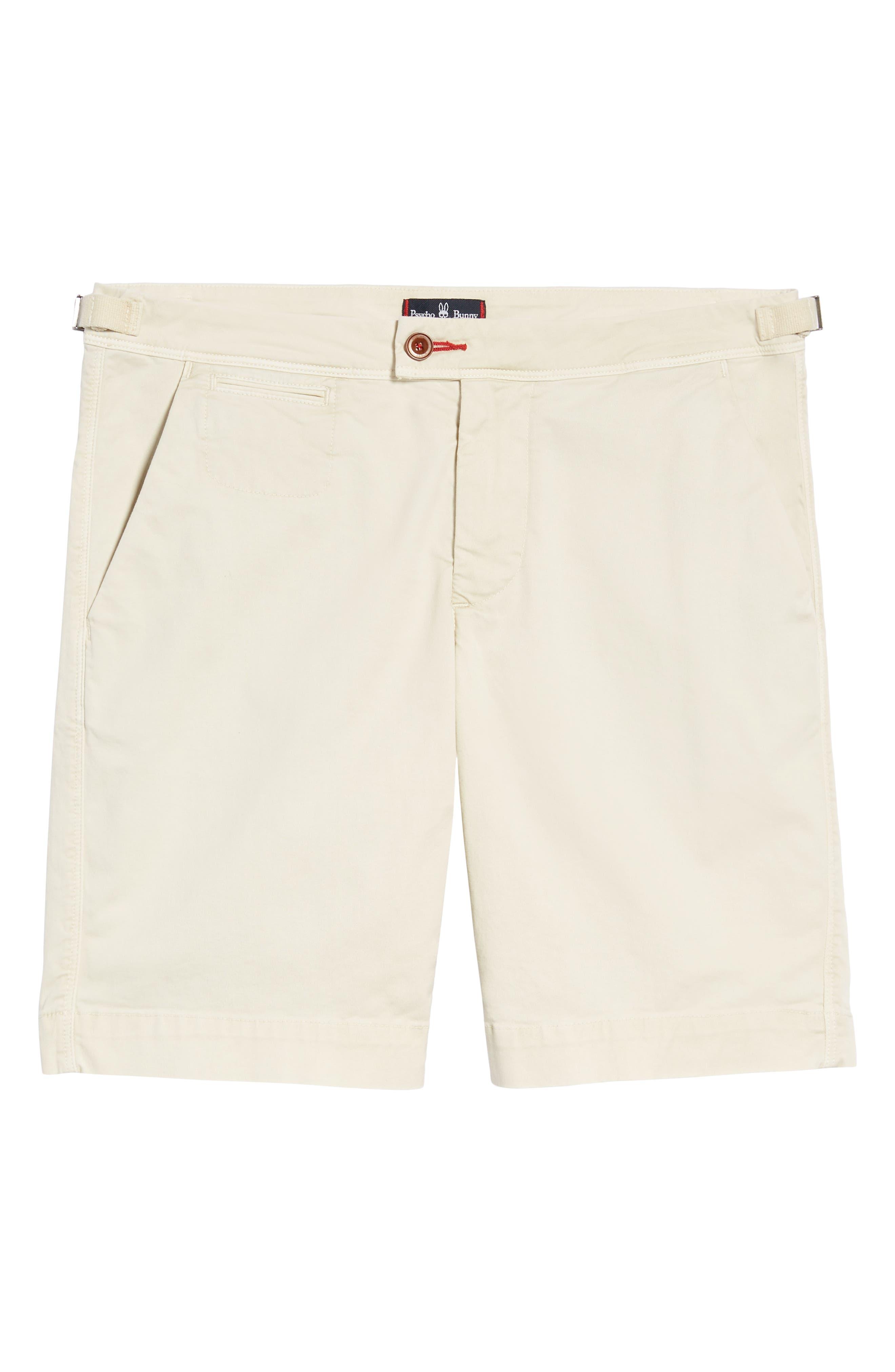 PSYCHO BUNNY, Triumph Shorts, Alternate thumbnail 6, color, 130