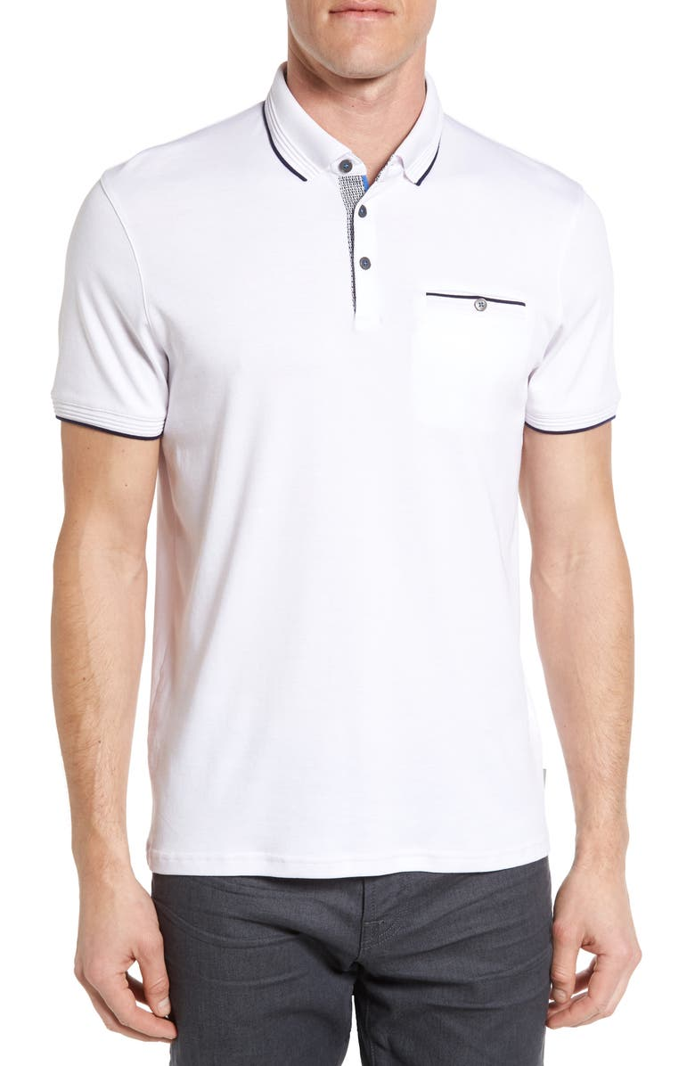 9da999c34 Ted Baker London Derry Modern Slim Fit Polo