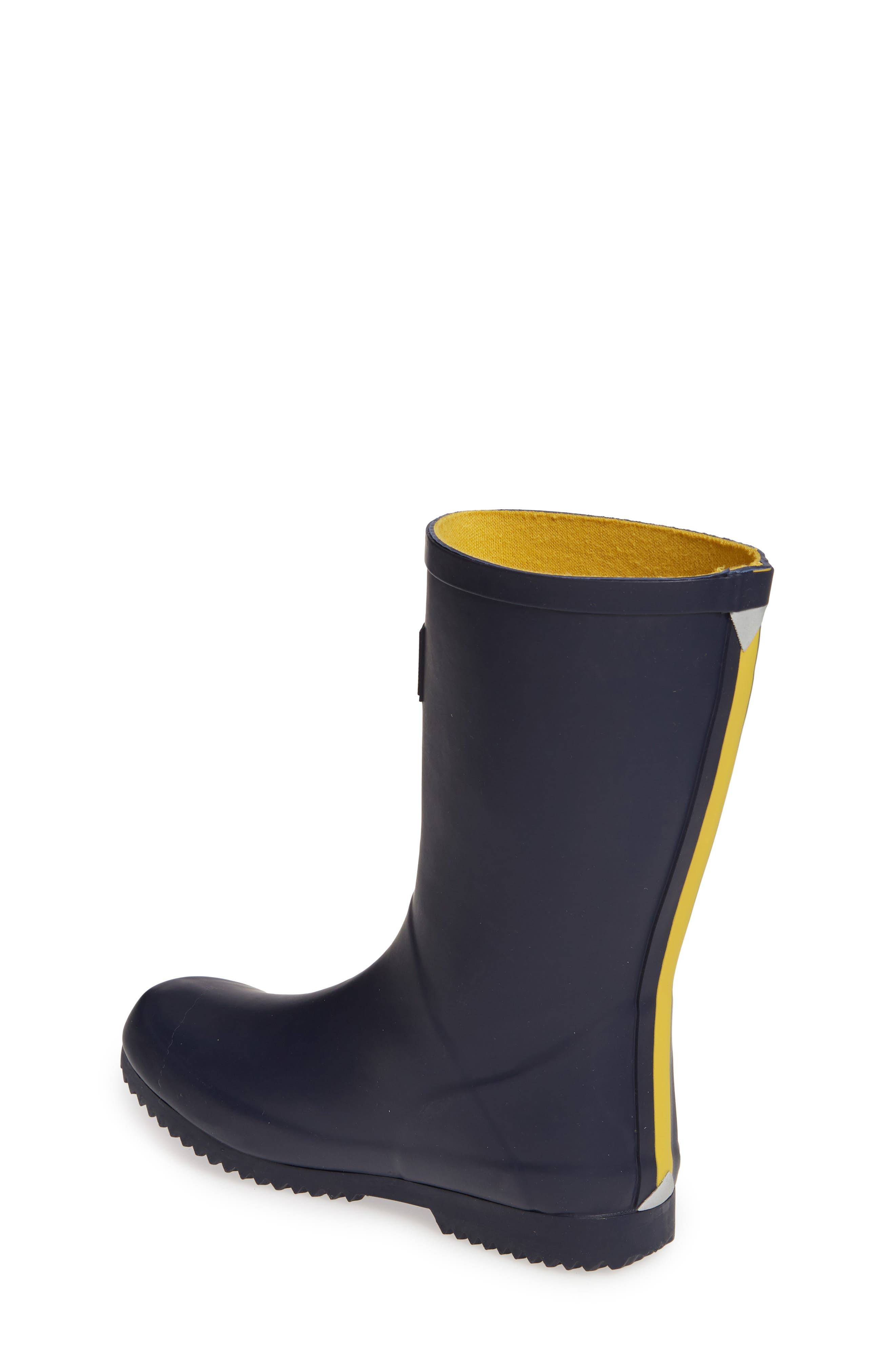 JOULES, Roll Up Waterproof Rain Boot, Alternate thumbnail 2, color, FRENCH NAVY