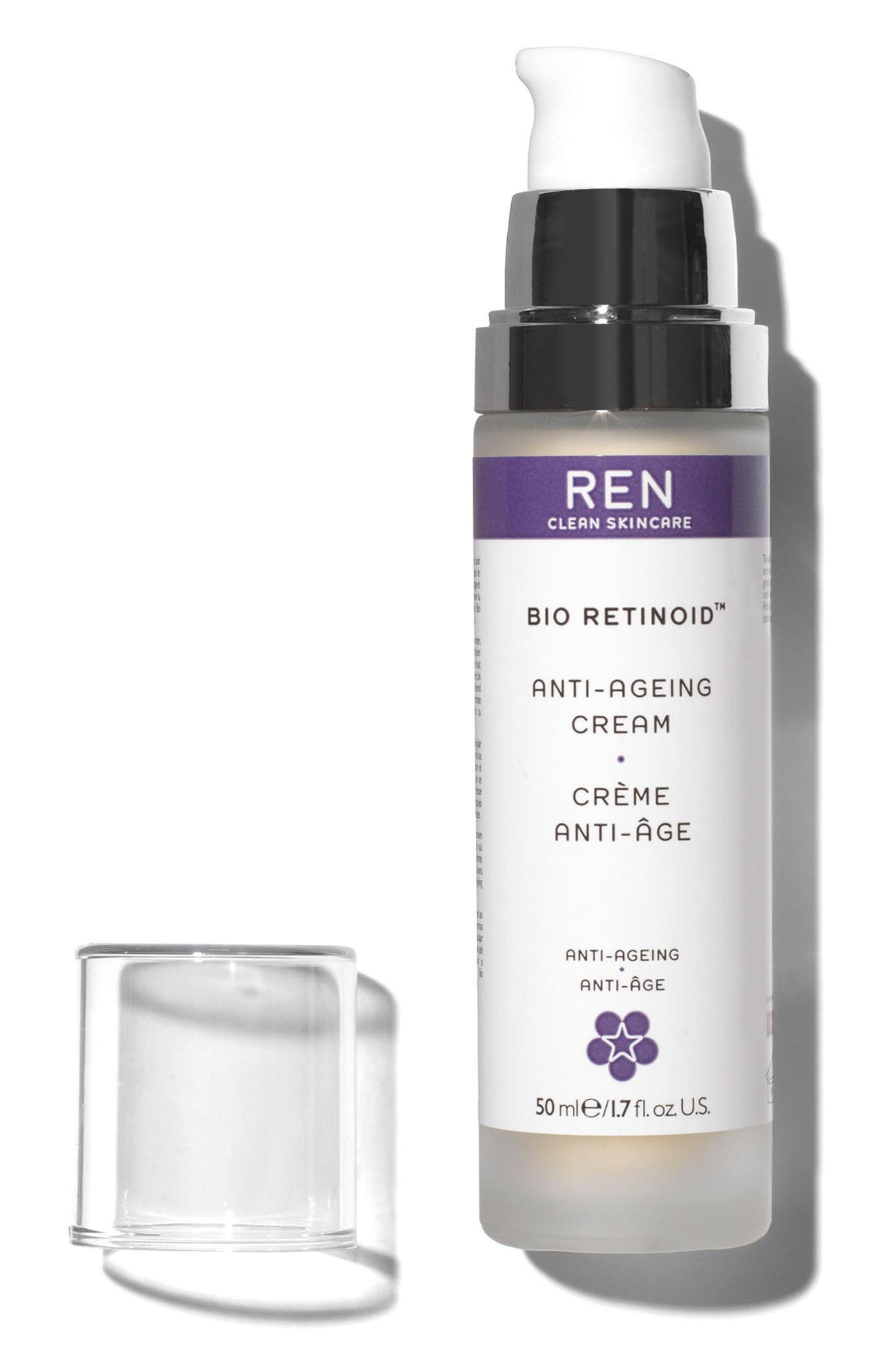 REN, SPACE.NK.apothecary REN Bio Retinoid Anti-Aging Cream, Alternate thumbnail 2, color, NO COLOR