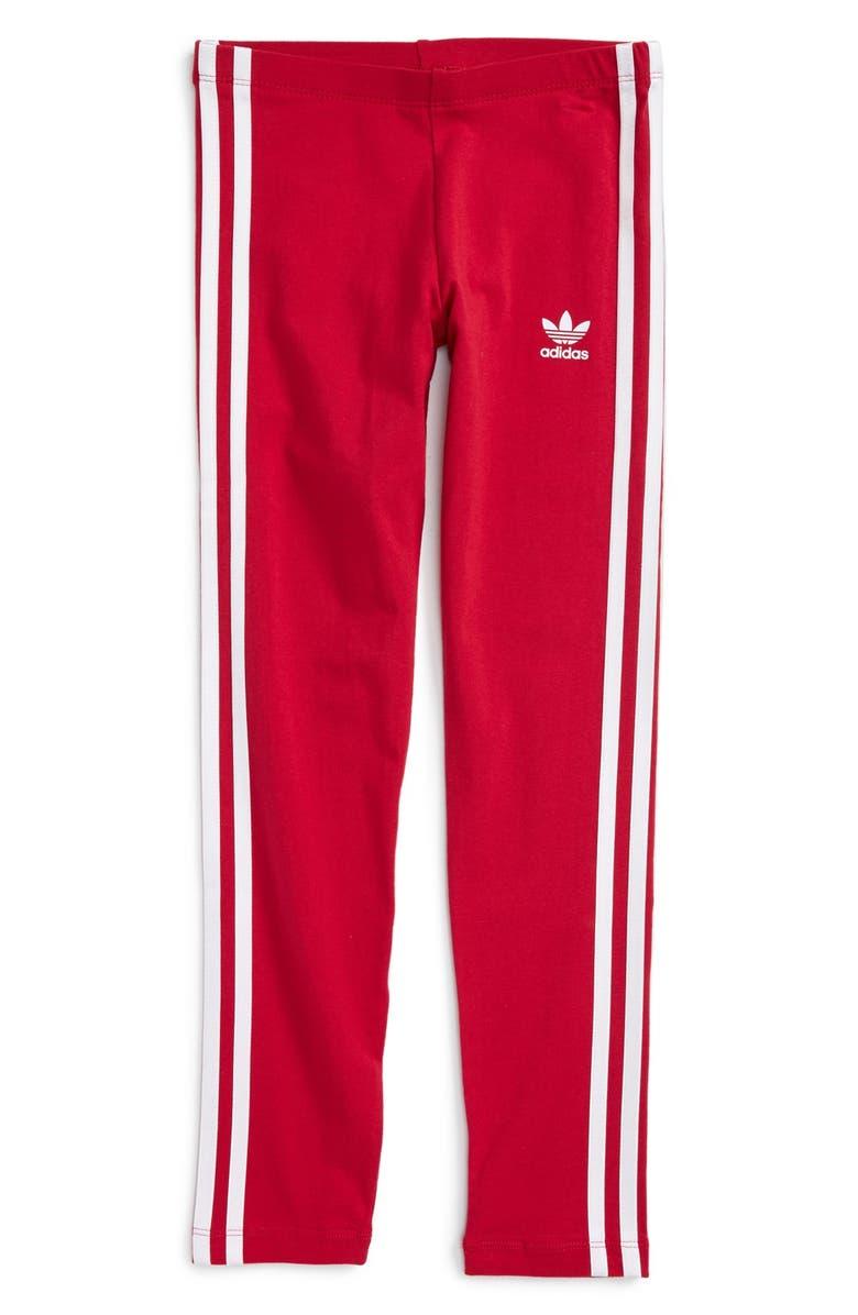 7336433a4 adidas Originals 3-Stripe Leggings (Big Girls) | Nordstrom
