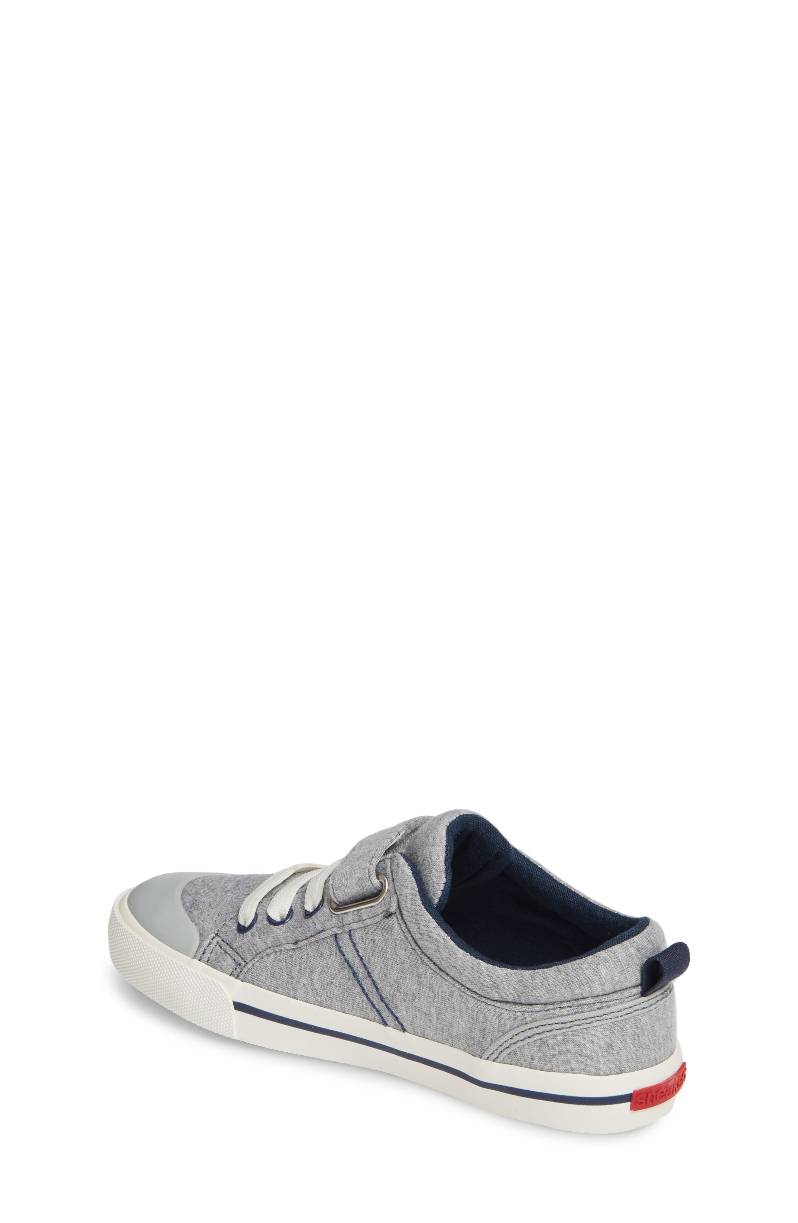 SEE KAI RUN, 'Tanner' Sneaker, Alternate thumbnail 2, color, GRAY/ BLUE JERSEY
