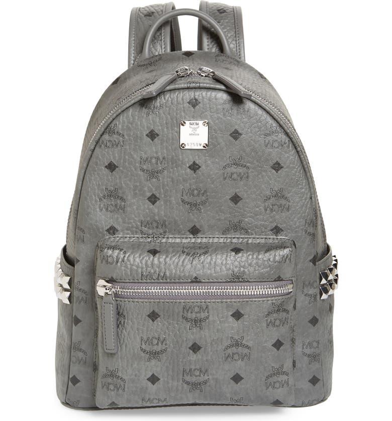 657a79aa3f6 MCM Small Stark Side Stud Backpack